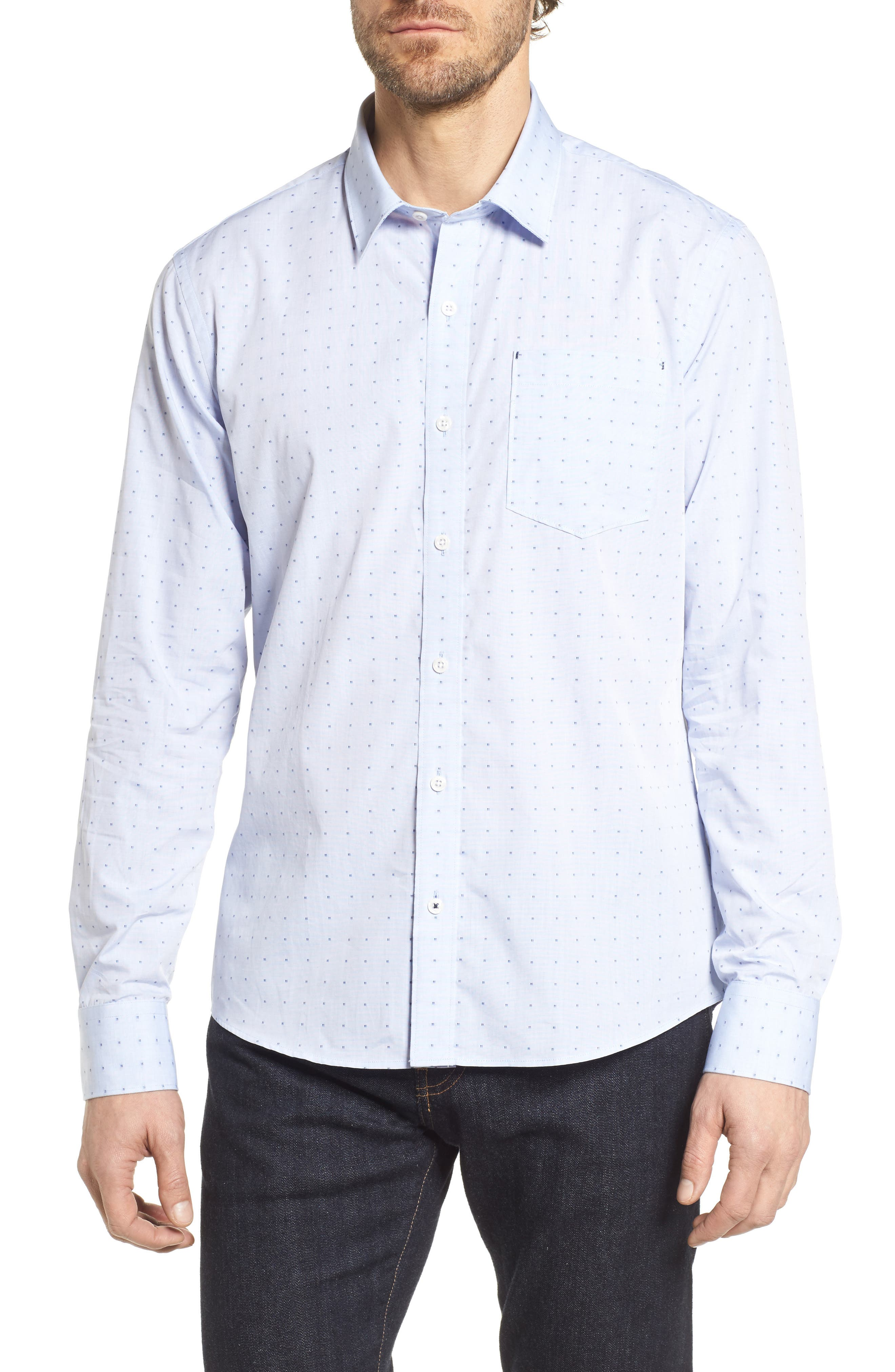 Trust in Me Woven Shirt,                             Main thumbnail 1, color,                             451