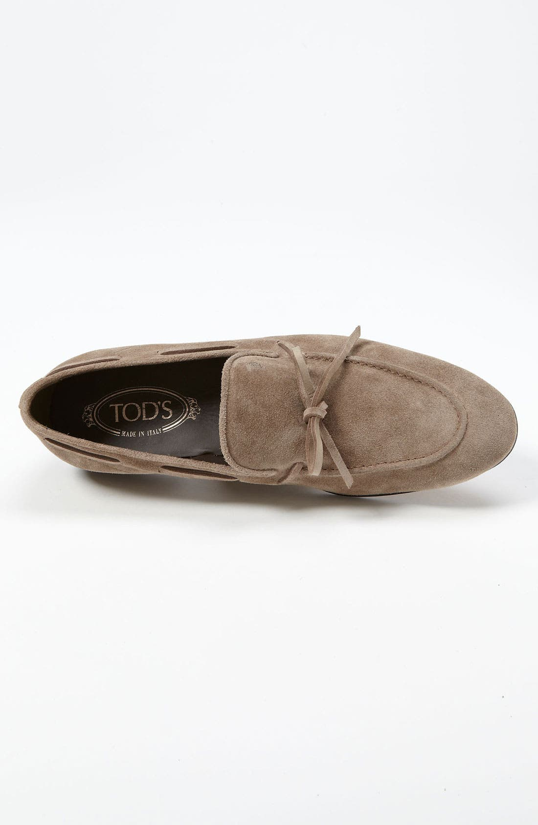 Suede Loafer,                             Alternate thumbnail 4, color,                             249