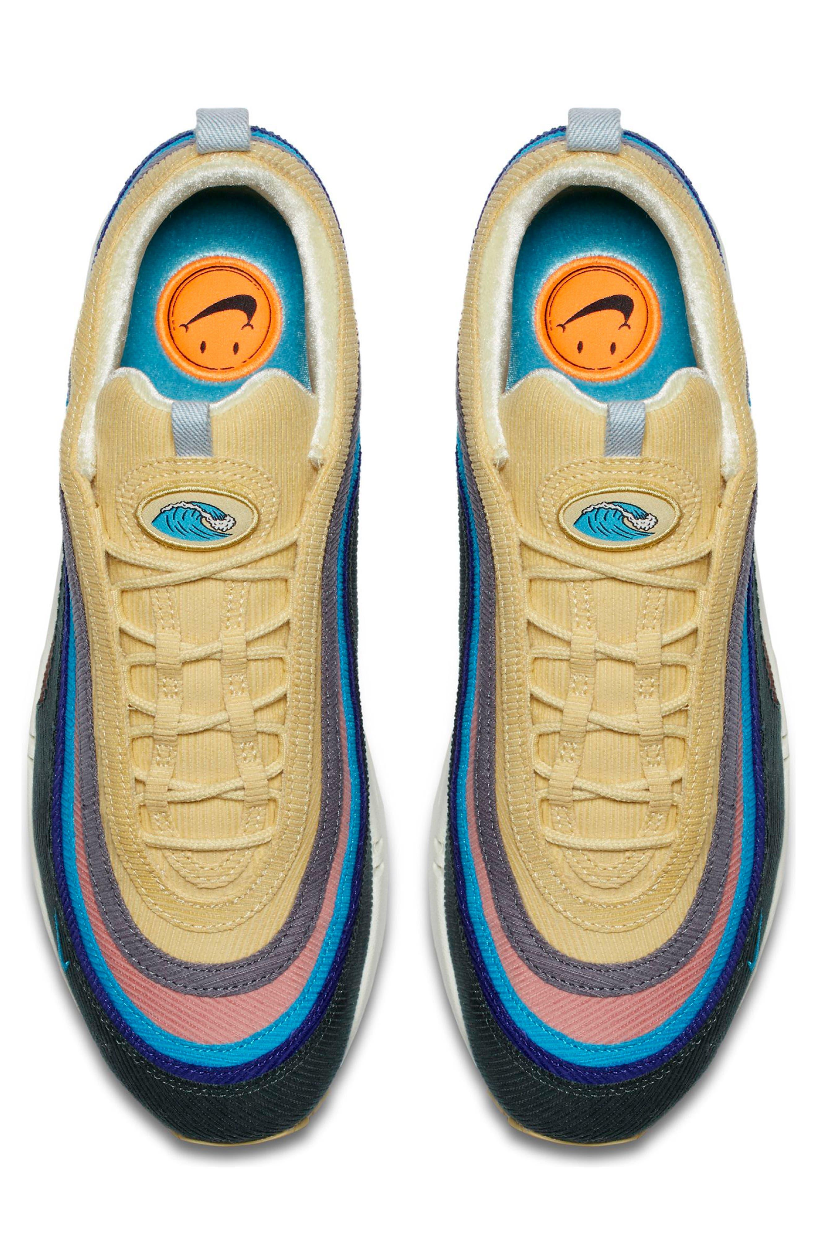 NIKE,                             Air Max 1/97 VF SW Sneaker,                             Alternate thumbnail 4, color,                             400