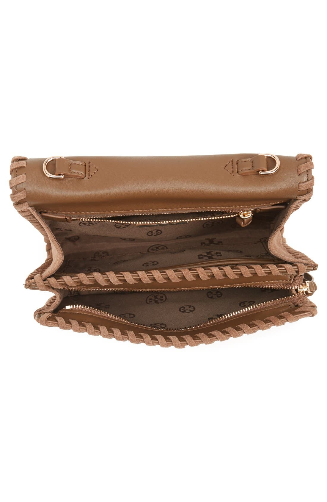 'Marion' Suede Crossbody Bag,                         Main,                         color, 037