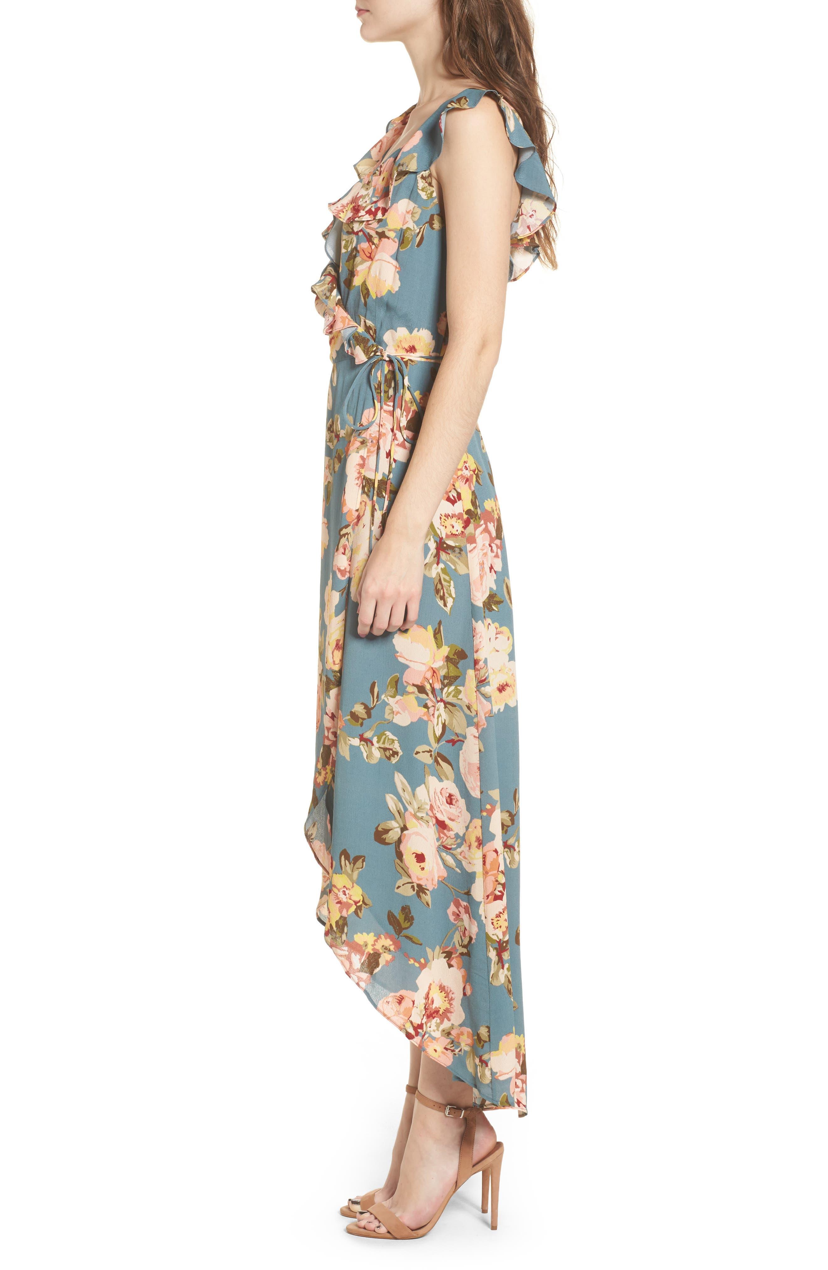 Fillmore Wrap Maxi Dress,                             Alternate thumbnail 3, color,                             300