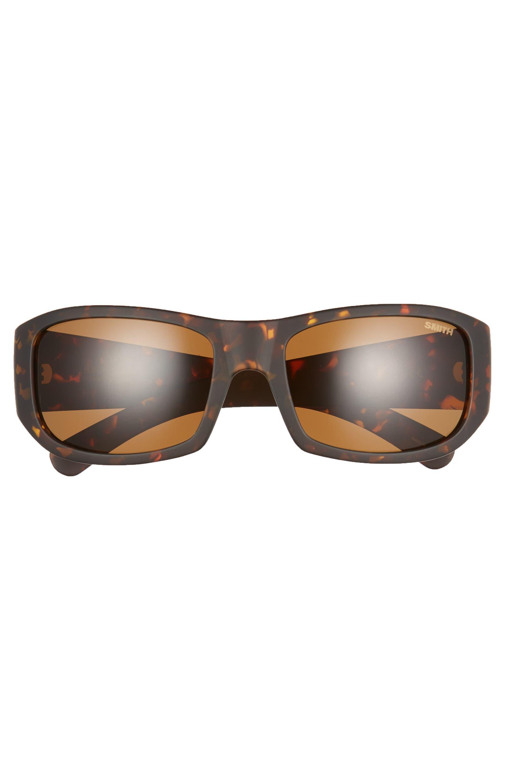 c508660c05 Smith Bauhaus 59mm ChromaPop™ Polarized Wraparound Sunglasses ...