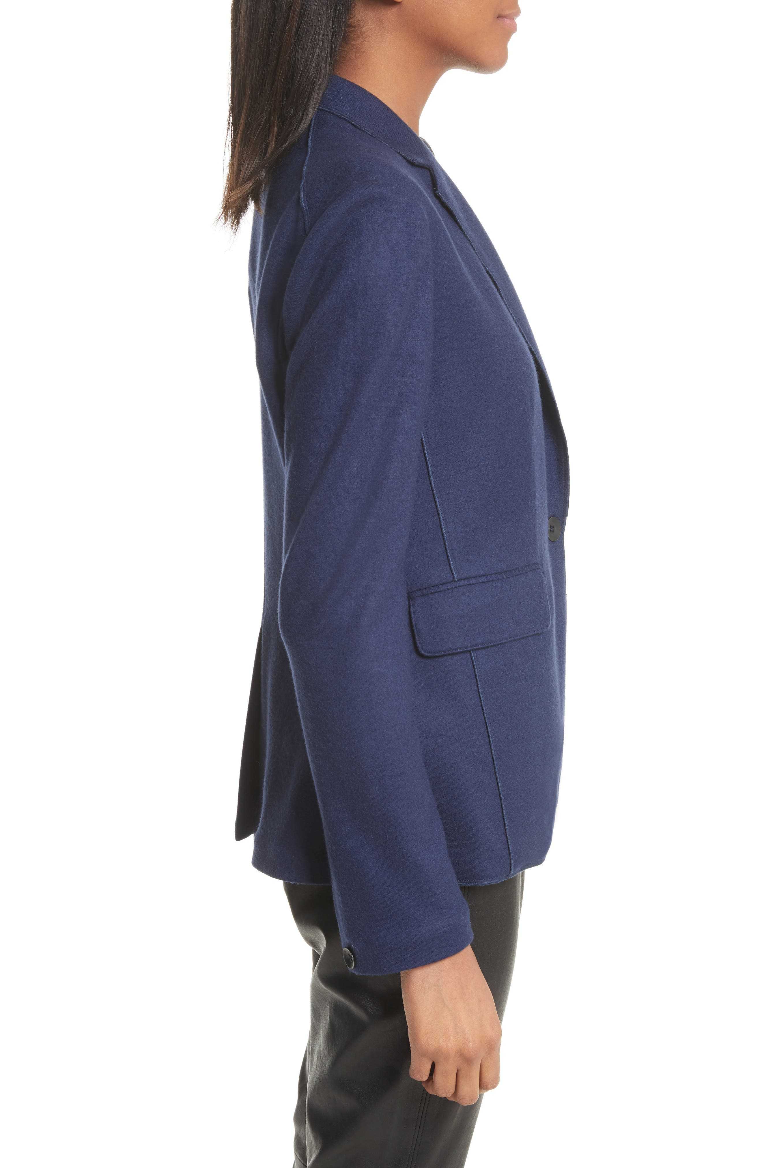 Club Wool Jacket,                             Alternate thumbnail 3, color,                             403