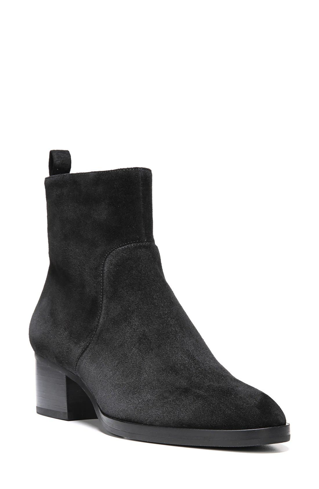 'Ottavia' Block Heel Bootie, Main, color, 002