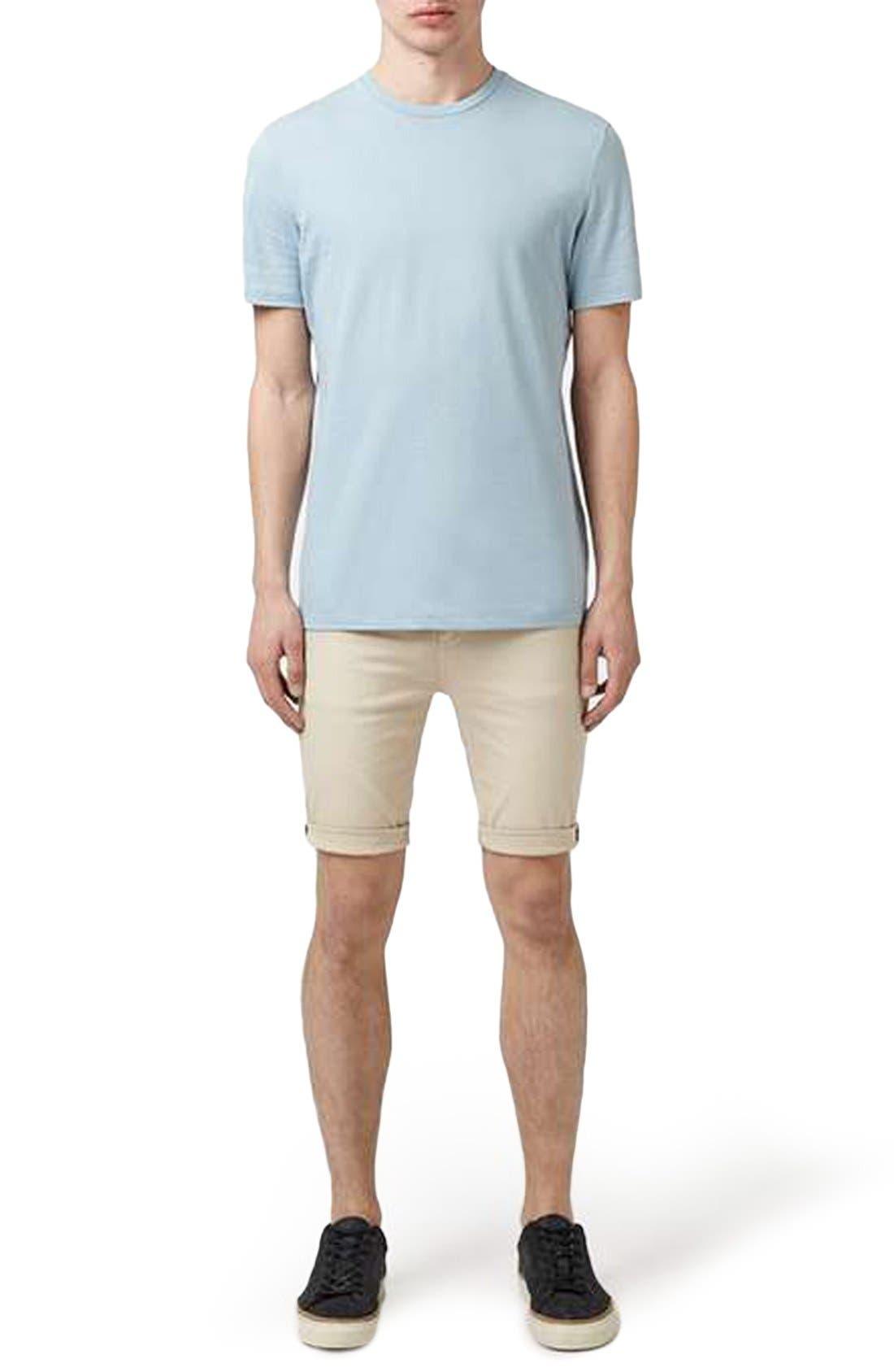 Slim Fit Crewneck T-Shirt,                             Alternate thumbnail 259, color,