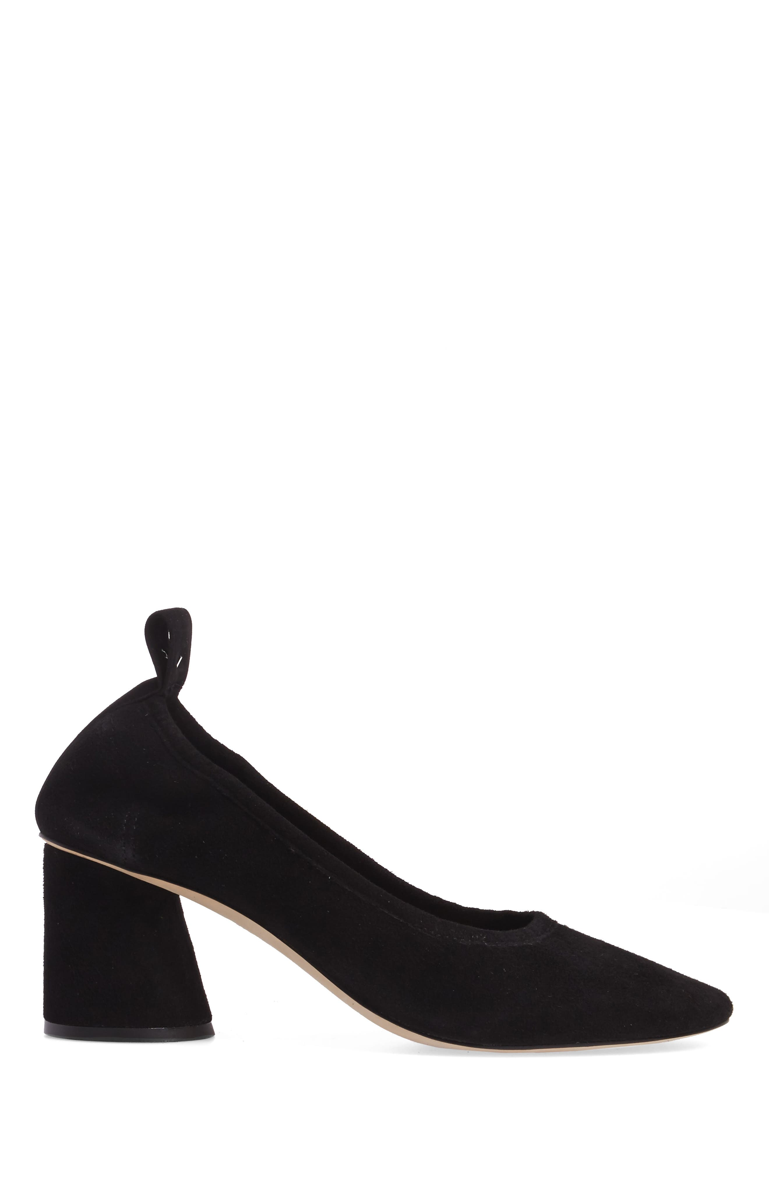 Therese Statement Heel Pump,                             Alternate thumbnail 3, color,                             001