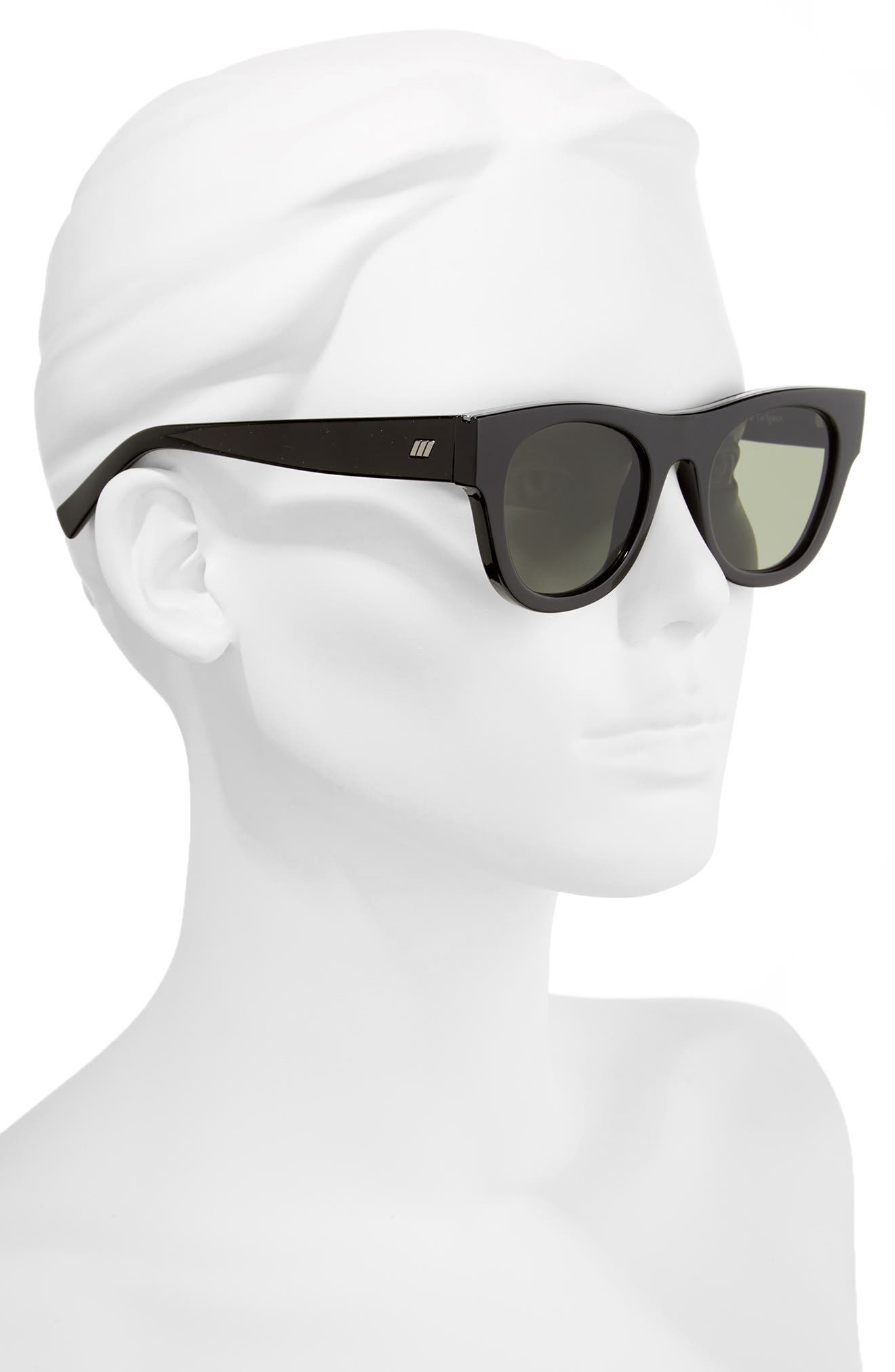 Arcadia 49mm Sunglasses,                             Alternate thumbnail 2, color,                             001