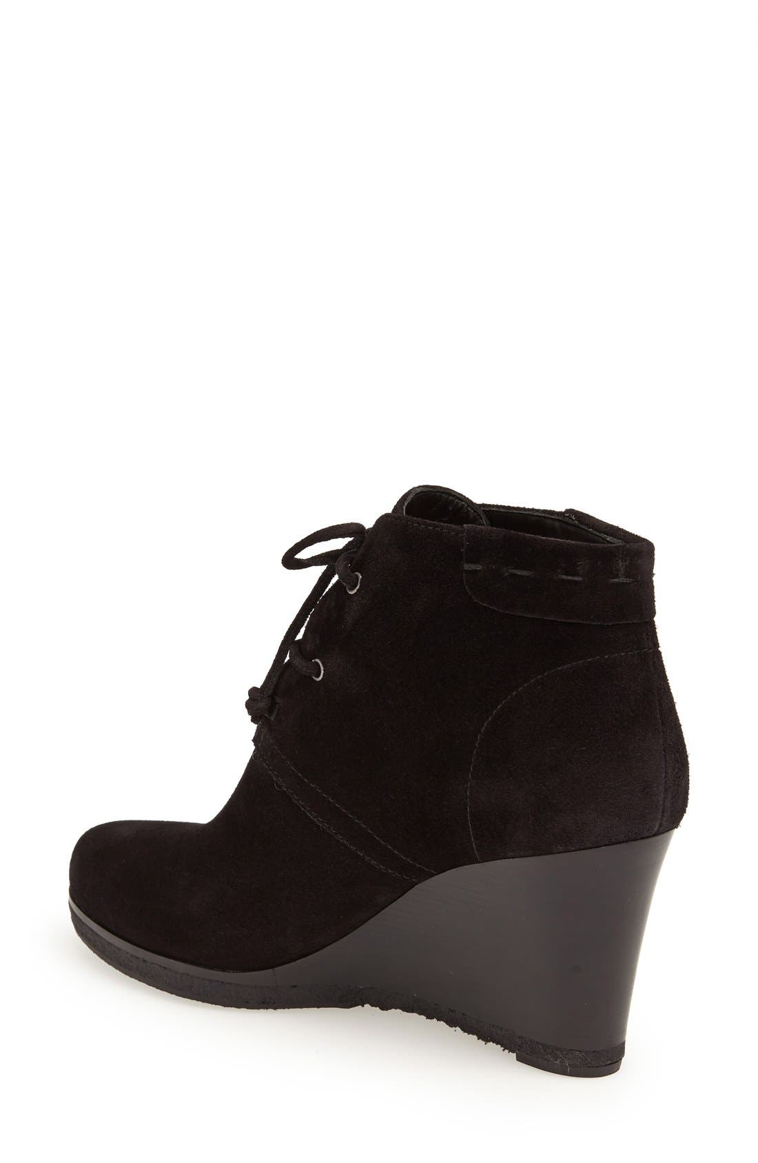 'Mirren' Wedge Bootie,                             Alternate thumbnail 2, color,                             002