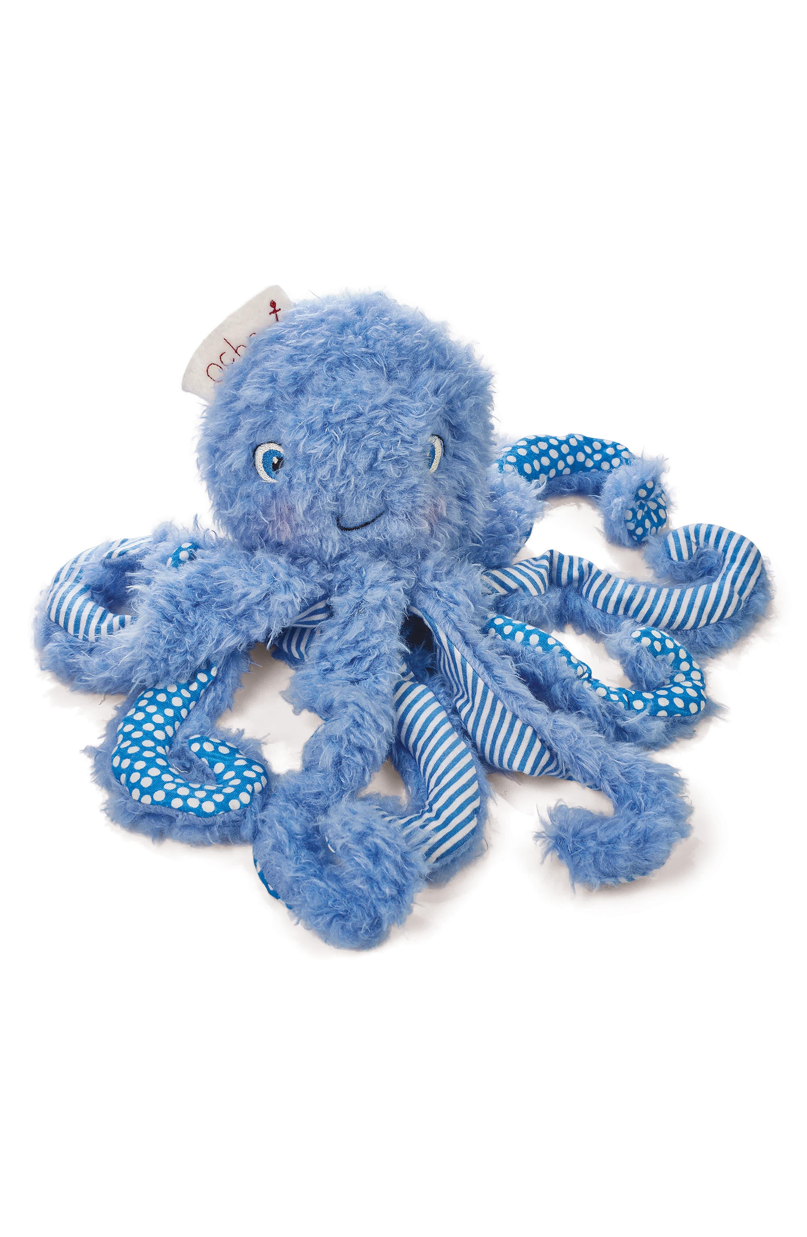 Ocho Octopus Stuffed Animal,                             Main thumbnail 1, color,                             420