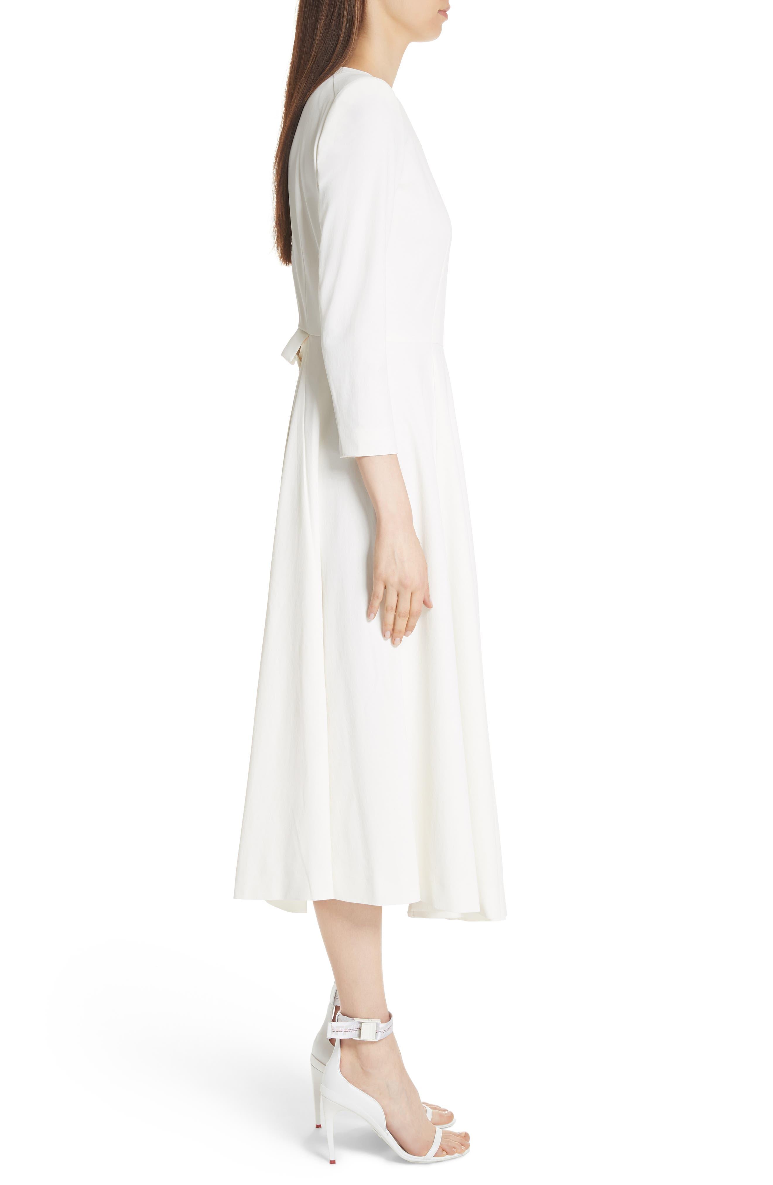 TOGA,                             Beaded Keyhole Dress,                             Alternate thumbnail 4, color,                             100