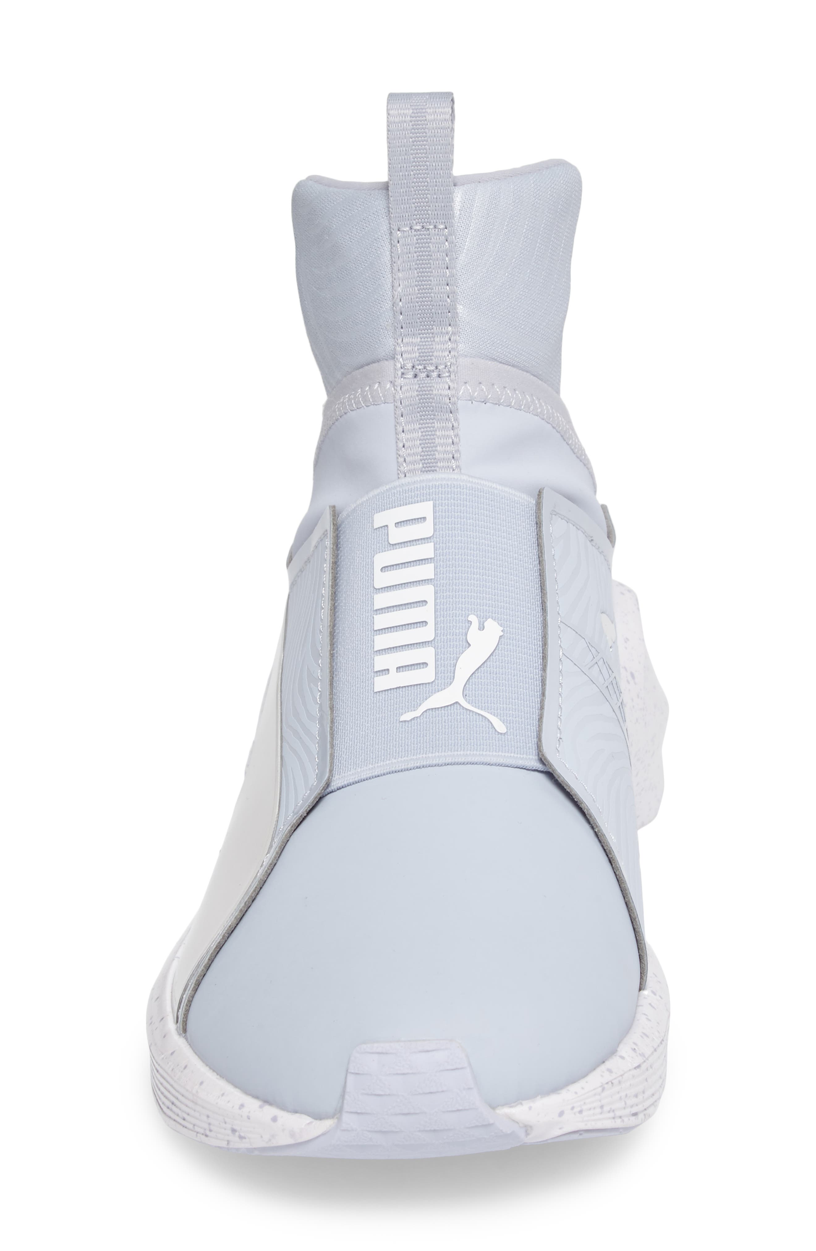 Fierce Bleached High Top Sneaker,                             Alternate thumbnail 4, color,                             400