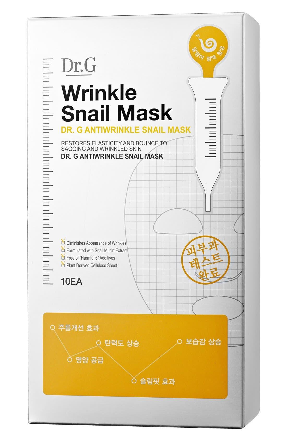 MY SKIN MENTOR DR. G BEAUTY,                             Wrinkle Snail Mask,                             Alternate thumbnail 3, color,                             000