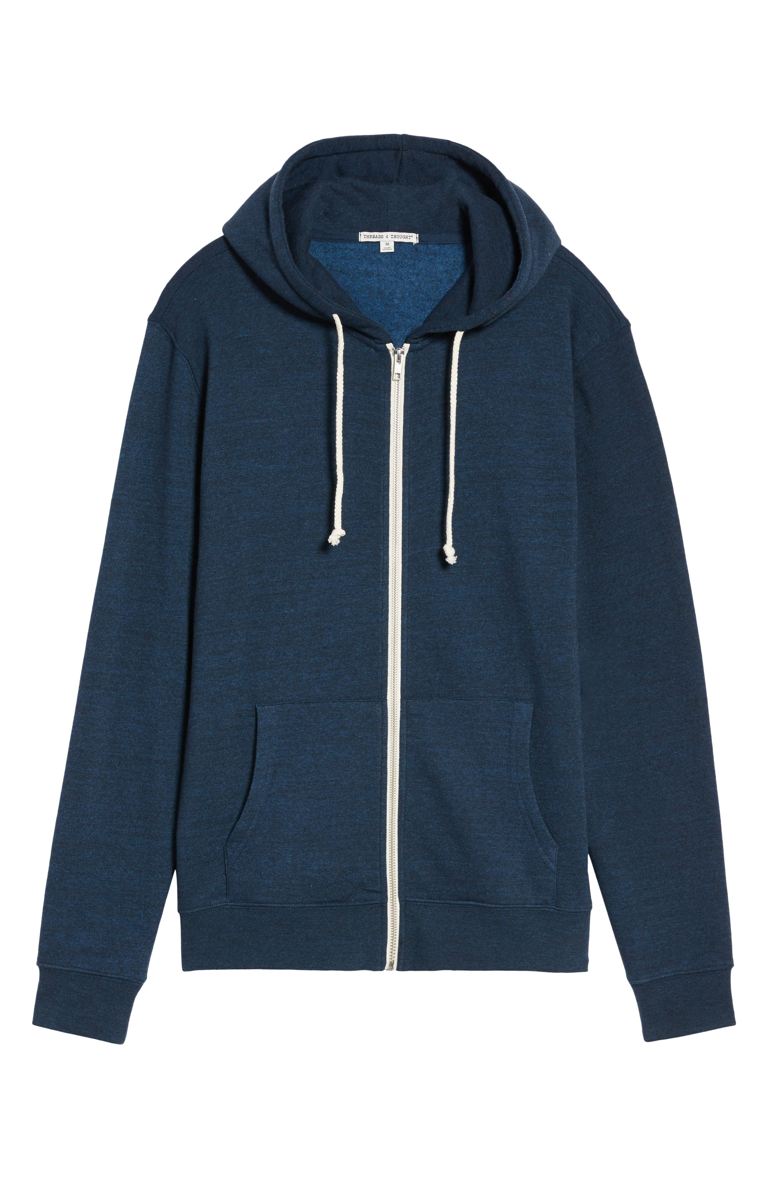 Threads for Thought Trim Fit Heathered Hoodie,                             Alternate thumbnail 62, color,