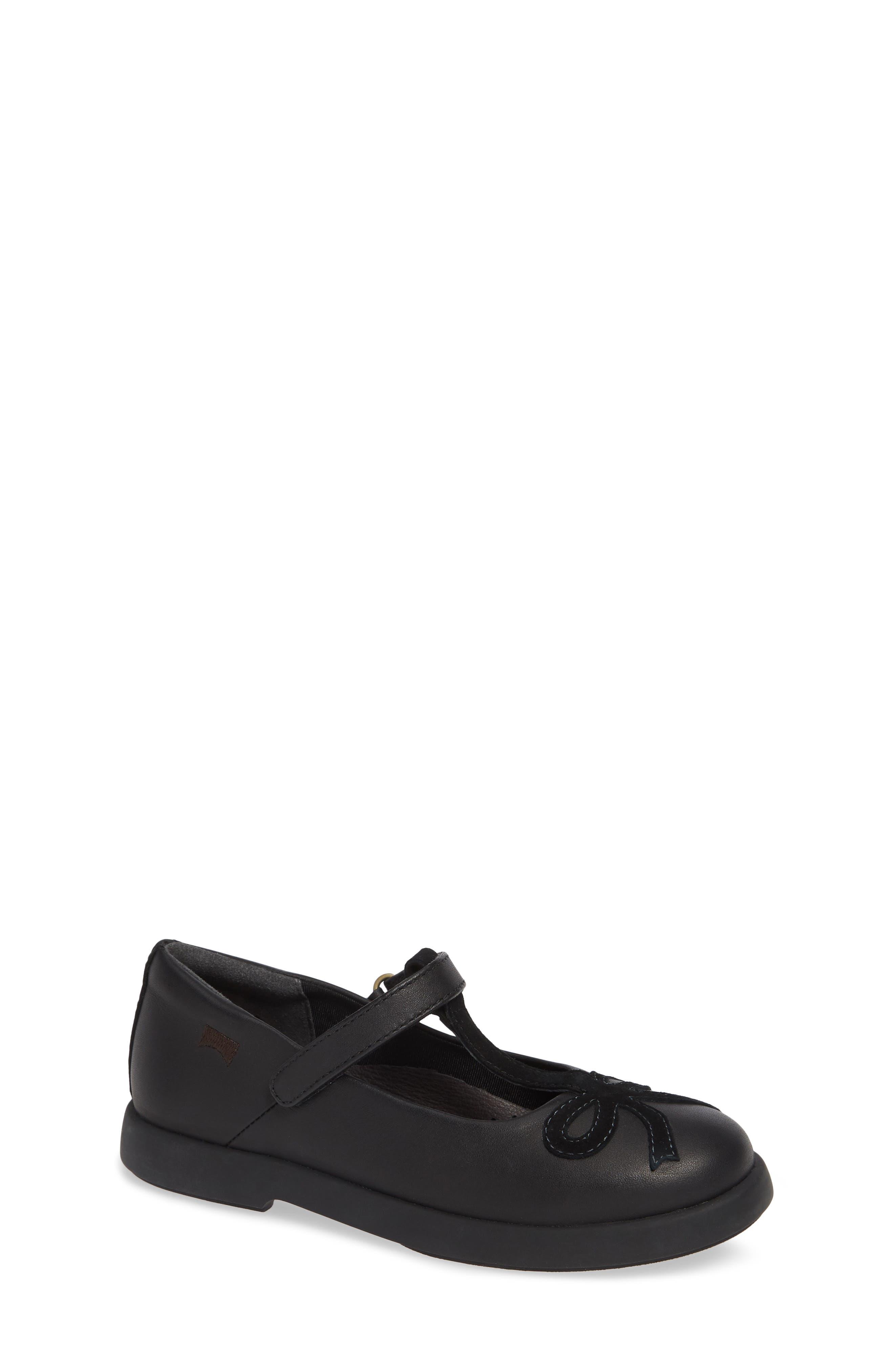 Twins Mary Jane Shoe,                         Main,                         color, BLACK