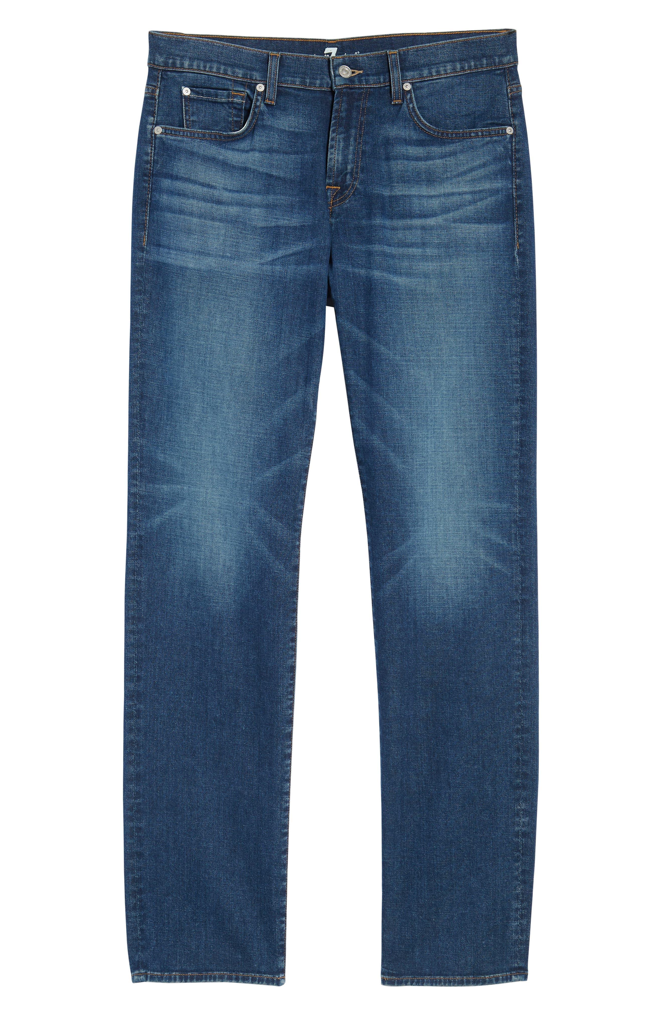 Standard Straight Leg Jeans,                             Alternate thumbnail 6, color,                             400