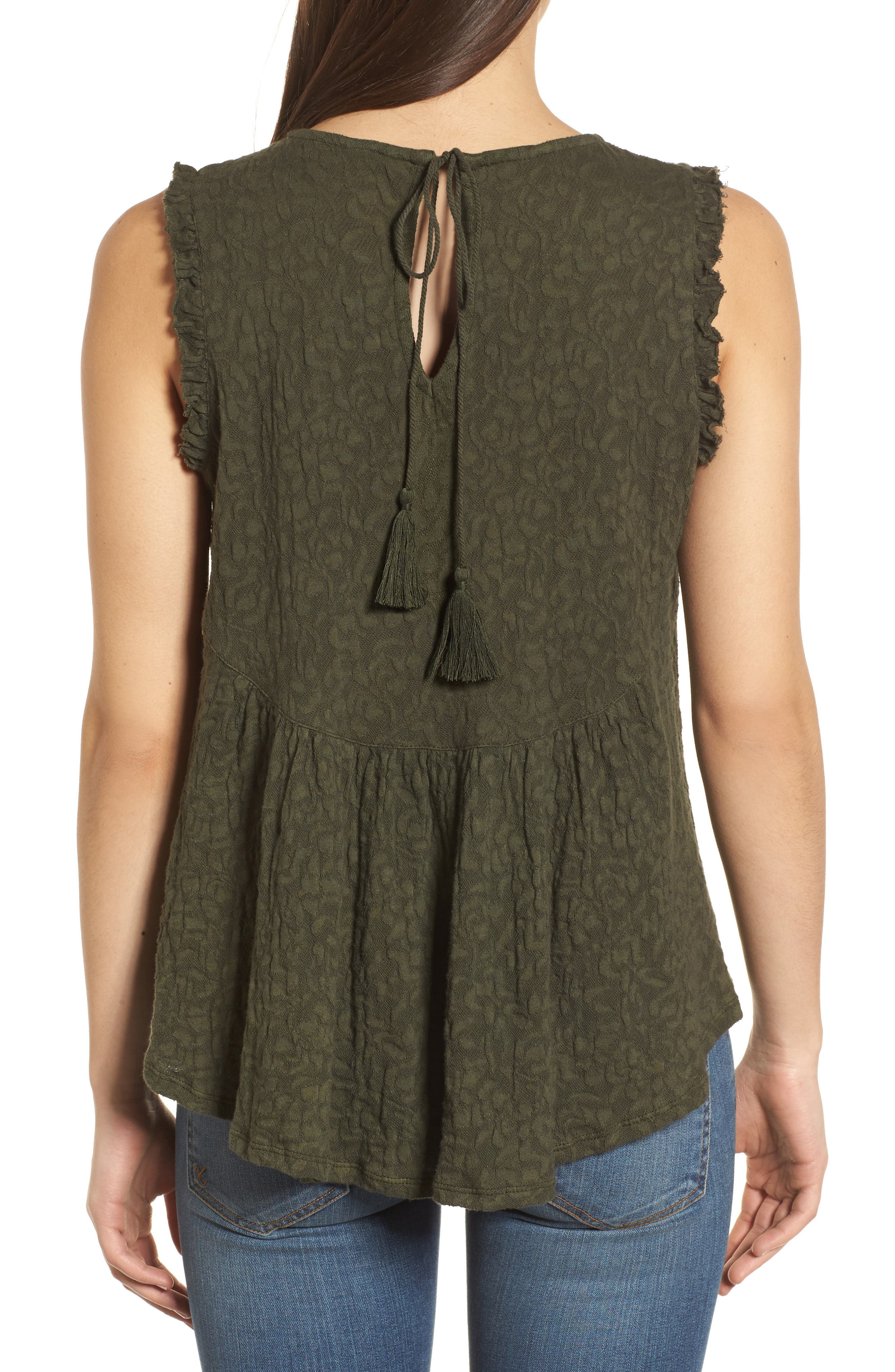 Jacquard Tank,                             Alternate thumbnail 2, color,                             305