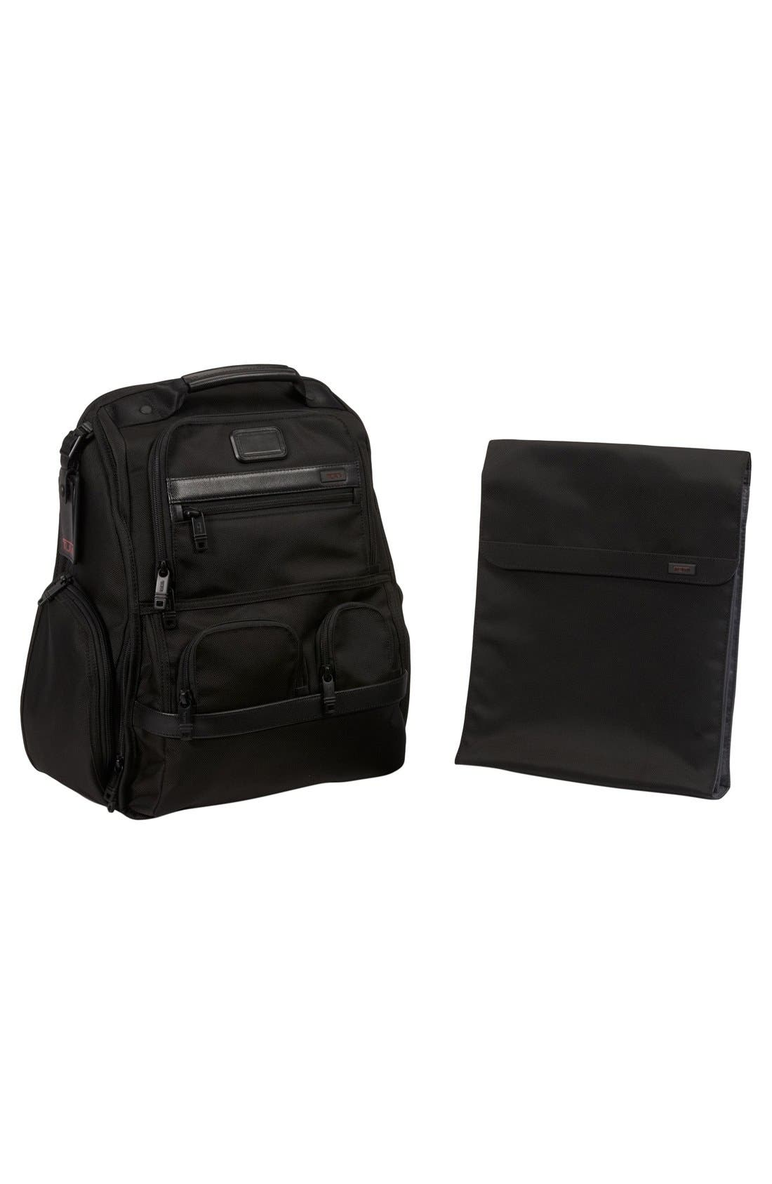 Alpha 2 Compact Laptop Brief Pack<sup>®</sup>,                             Alternate thumbnail 6, color,                             007
