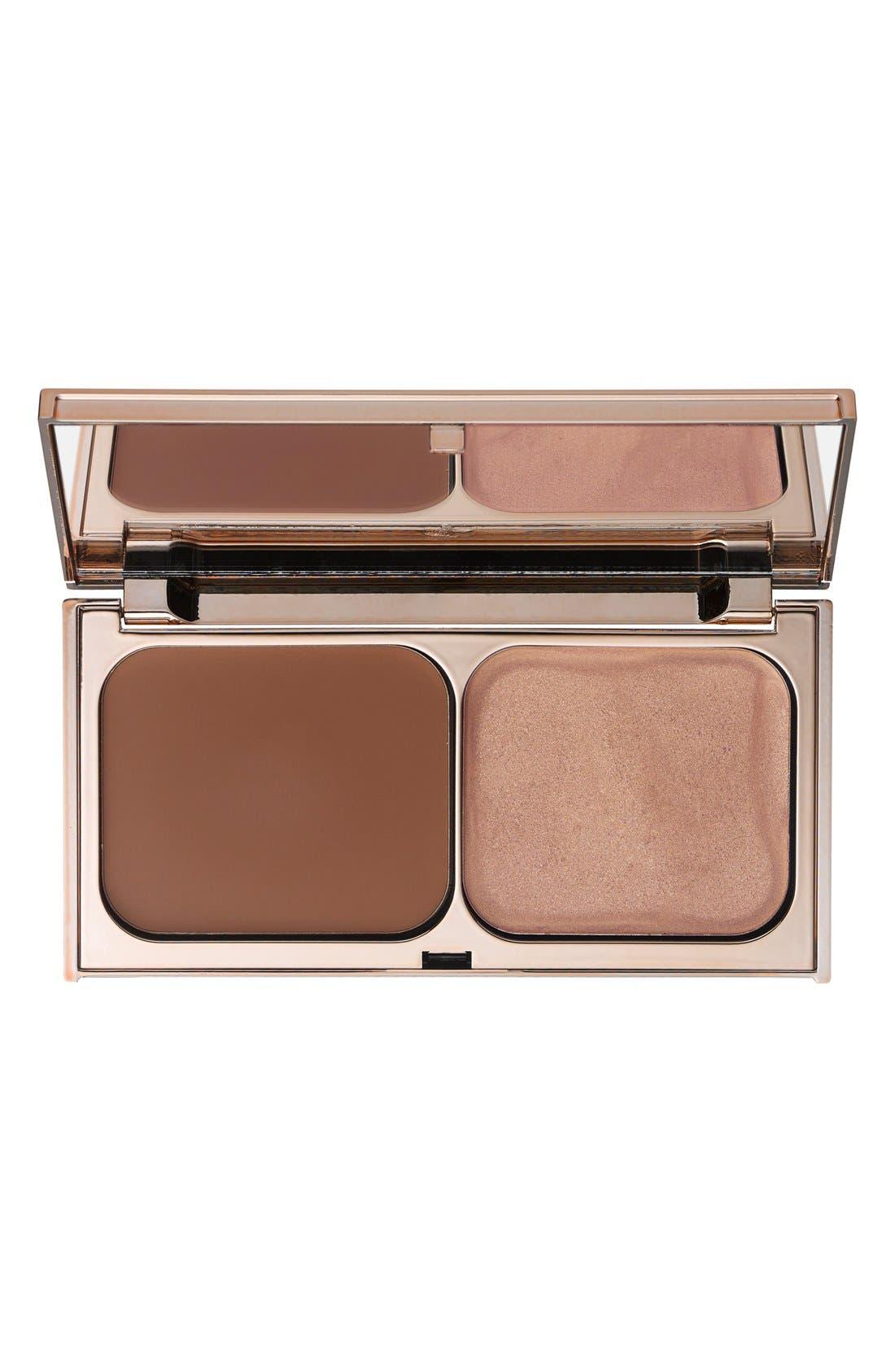 Norman Parkinson - Filmstar Bronze & Glow Sun Tan & Sun Light Face Sculpt & Highlight,                             Main thumbnail 1, color,                             000