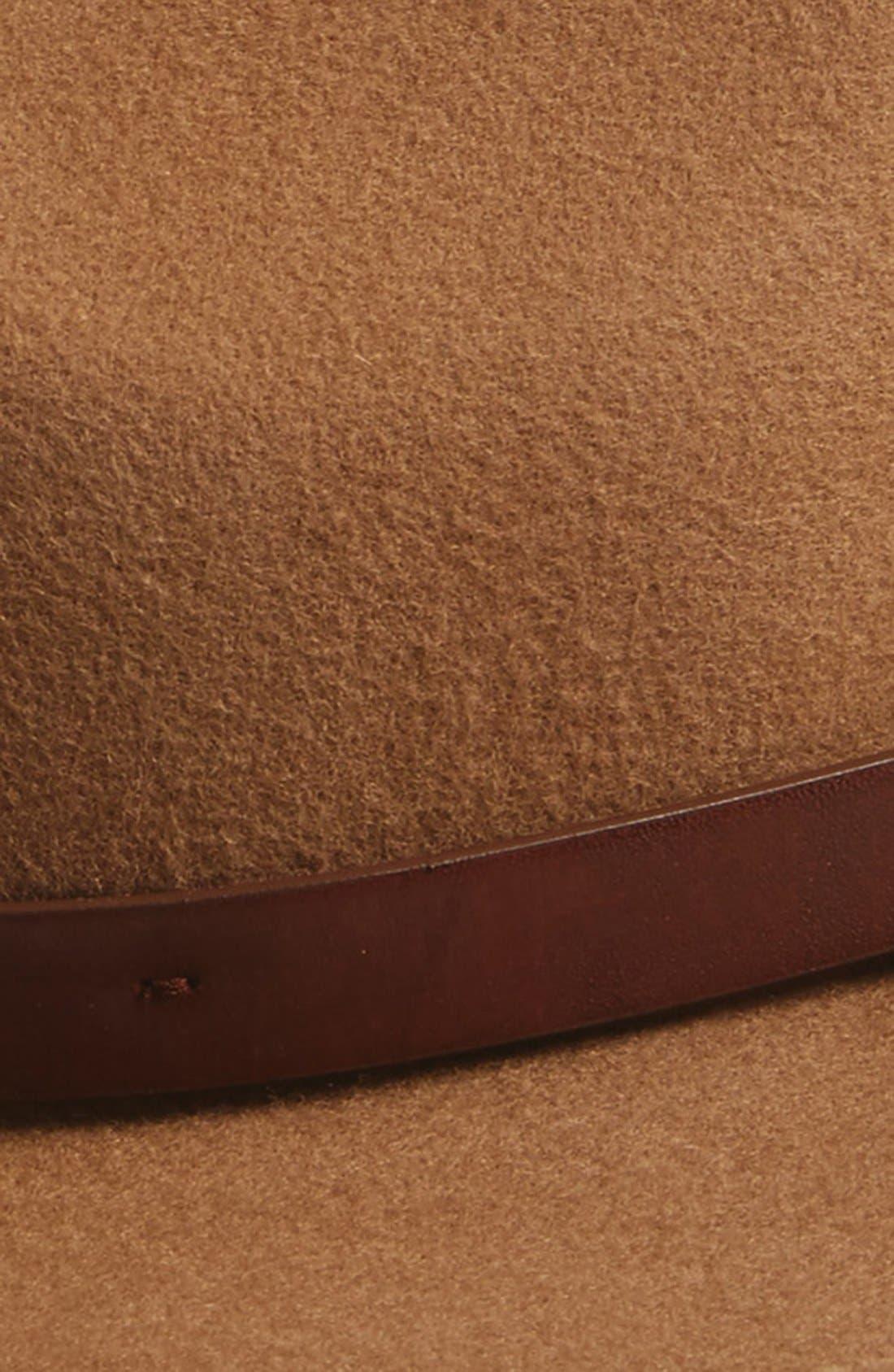 'Messer' Wool Fedora,                             Alternate thumbnail 5, color,
