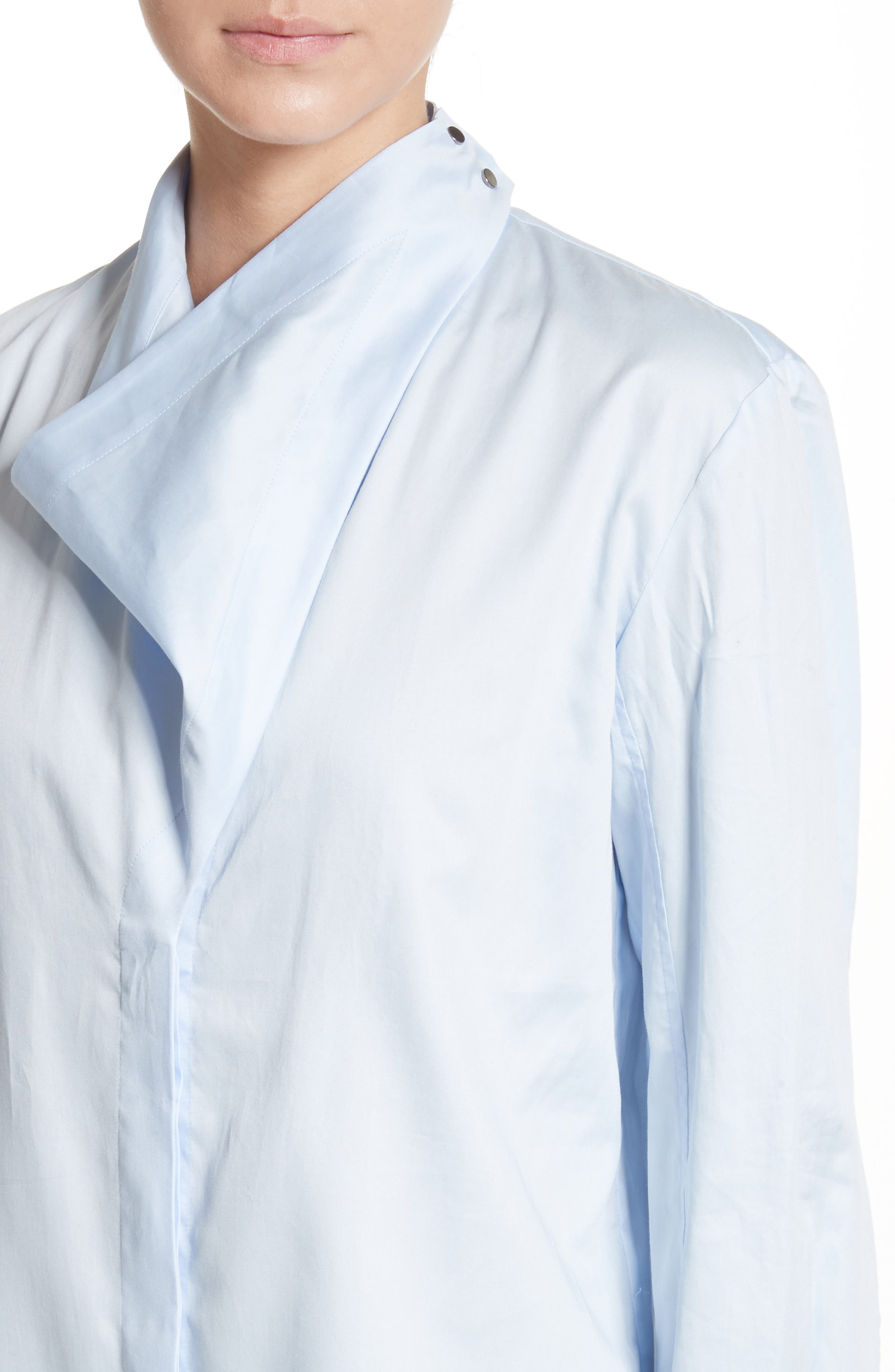 Damiane Cotton Poplin Shirt,                             Alternate thumbnail 4, color,