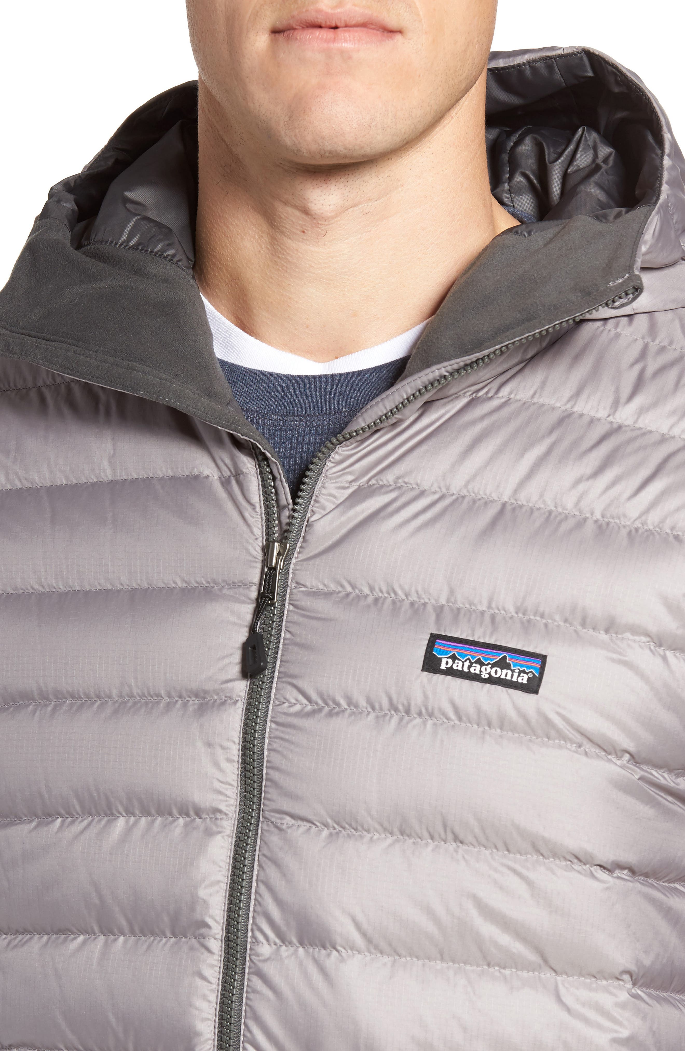 Packable Windproof & Water Resistant Goose Down Sweater Hooded Jacket,                             Alternate thumbnail 31, color,