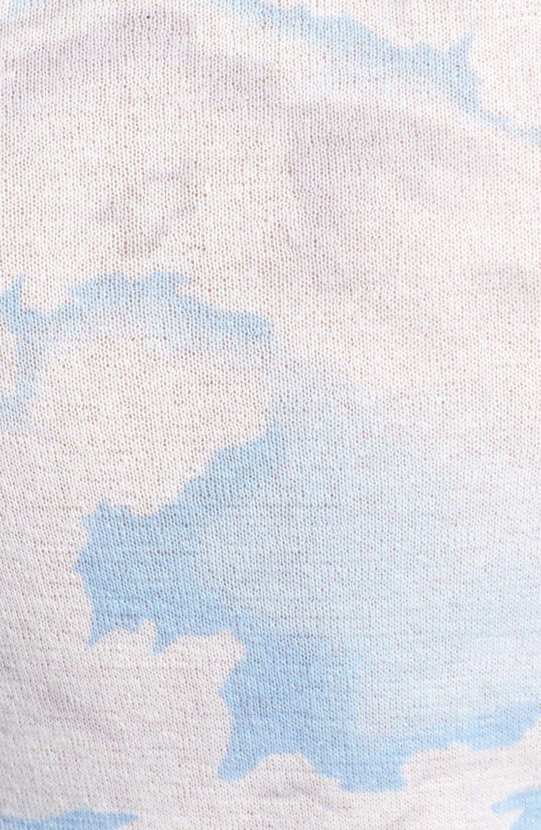Cloud Print Sweater,                             Alternate thumbnail 2, color,                             450