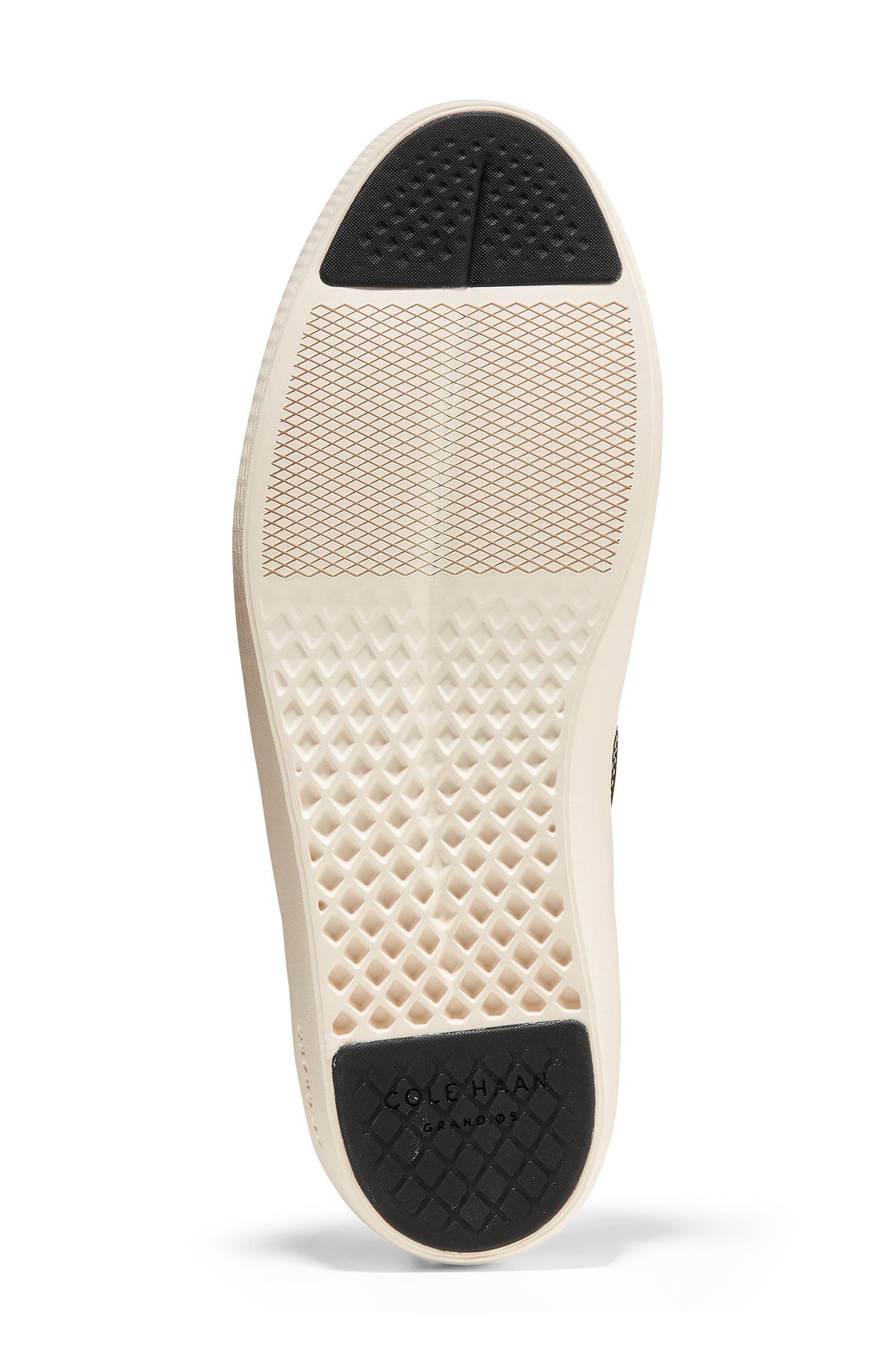 GrandPrø Deck Slip-On Sneaker,                             Alternate thumbnail 6, color,                             BLACK NUBUCK