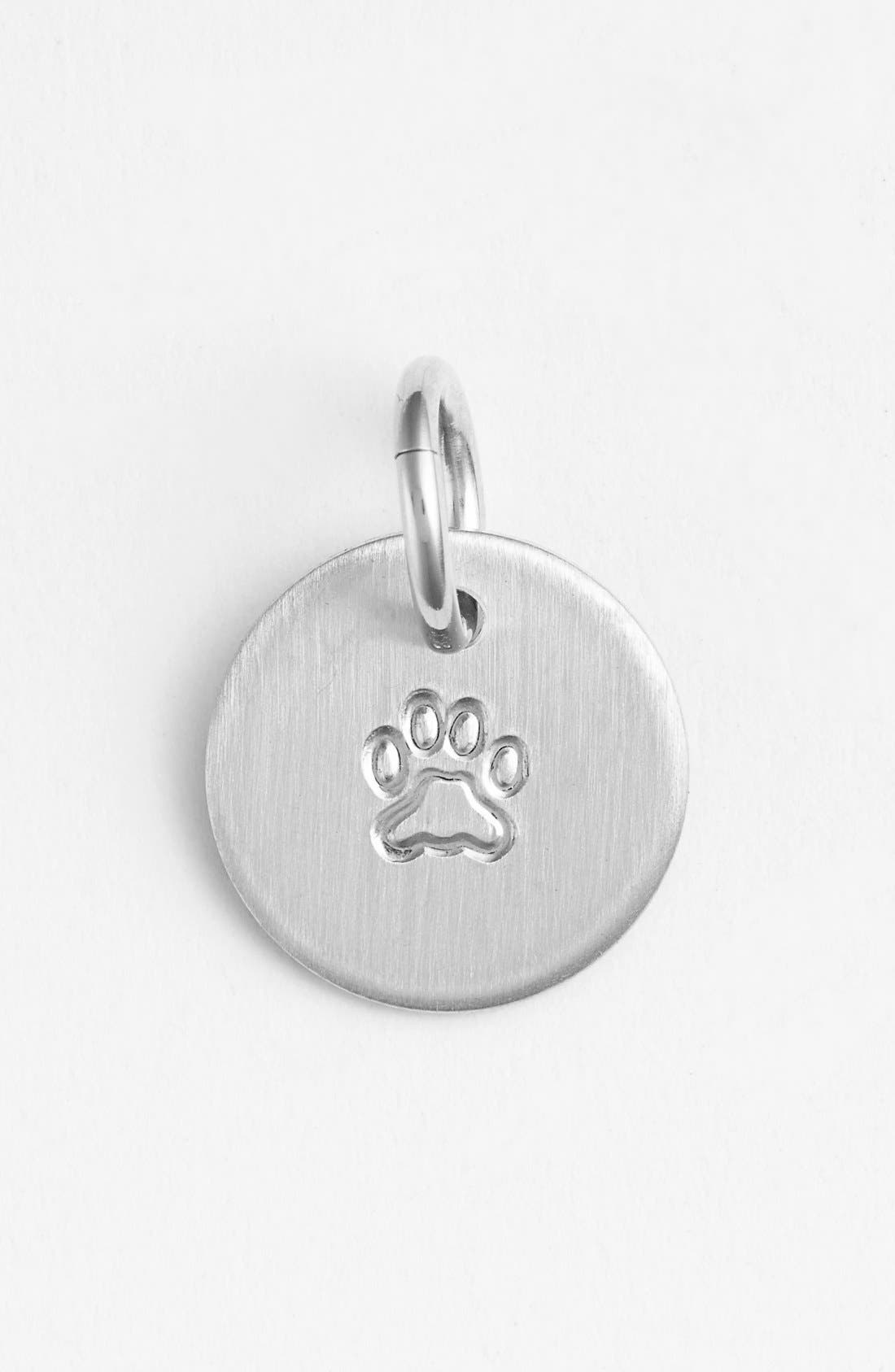 Paw Mini Stamp Charm,                         Main,                         color,