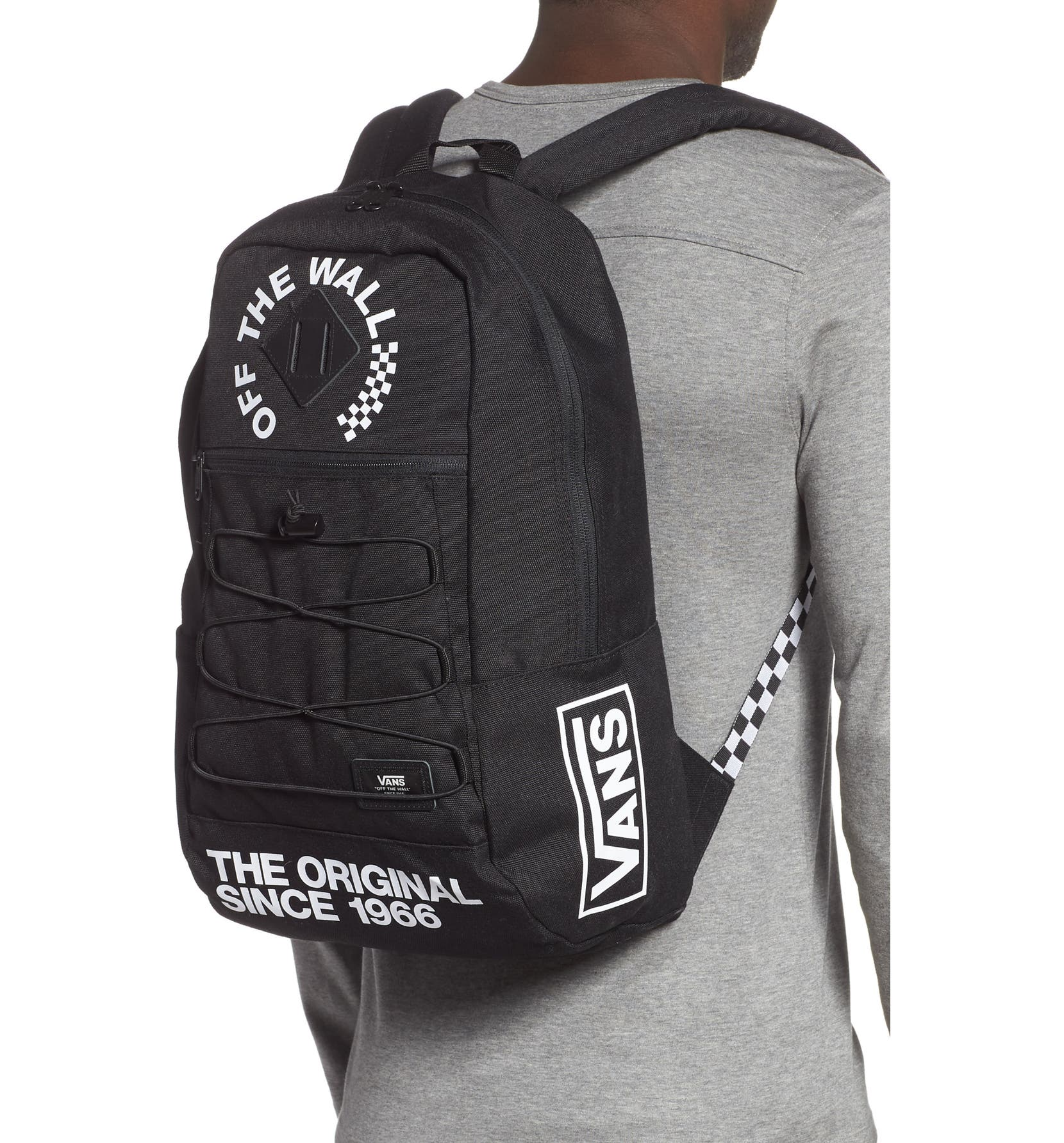 8d2ad5b3418 Vans Snag Water Resistant Backpack
