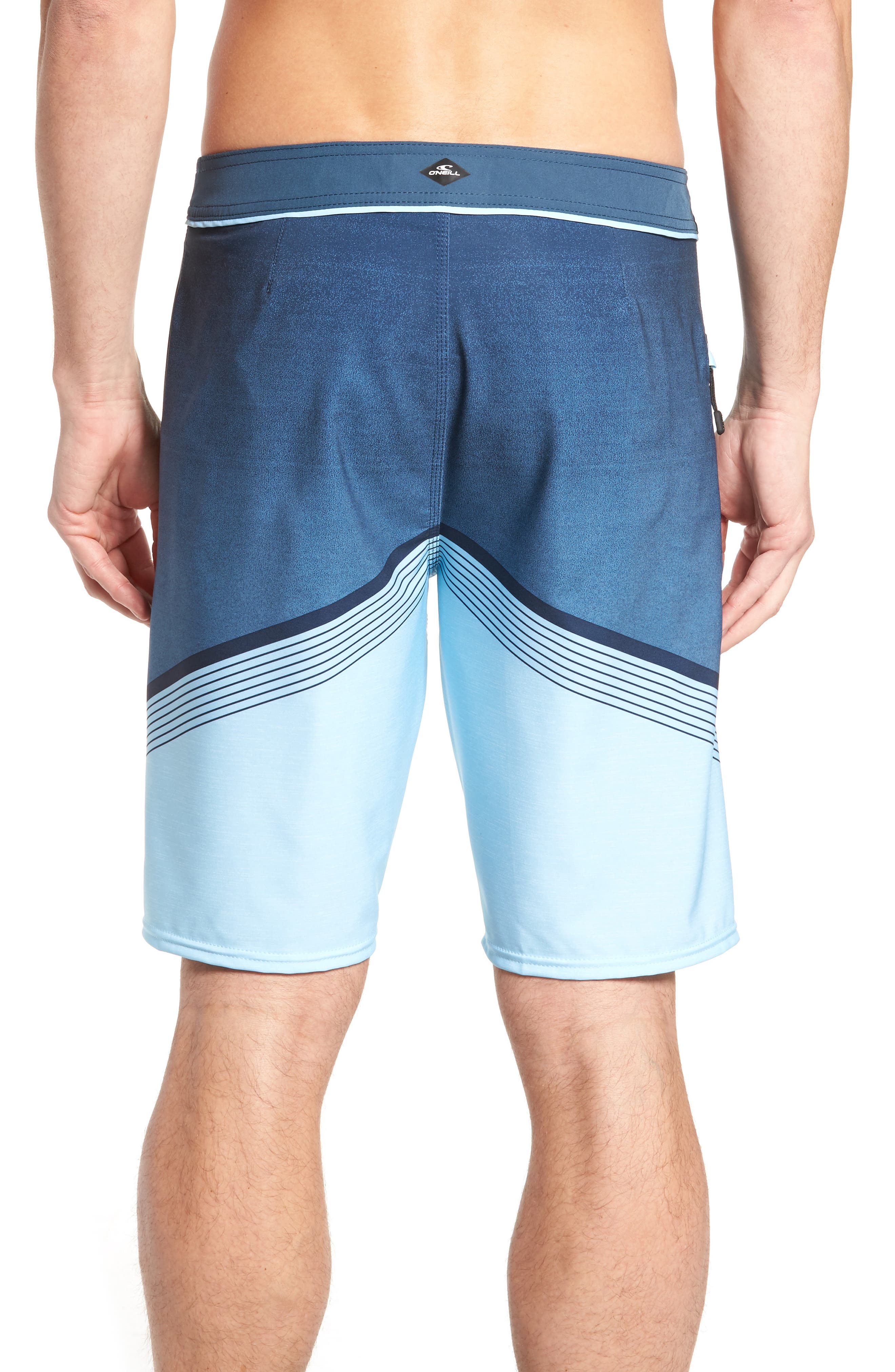 Hyperfreak Stretch Board Shorts,                             Alternate thumbnail 9, color,