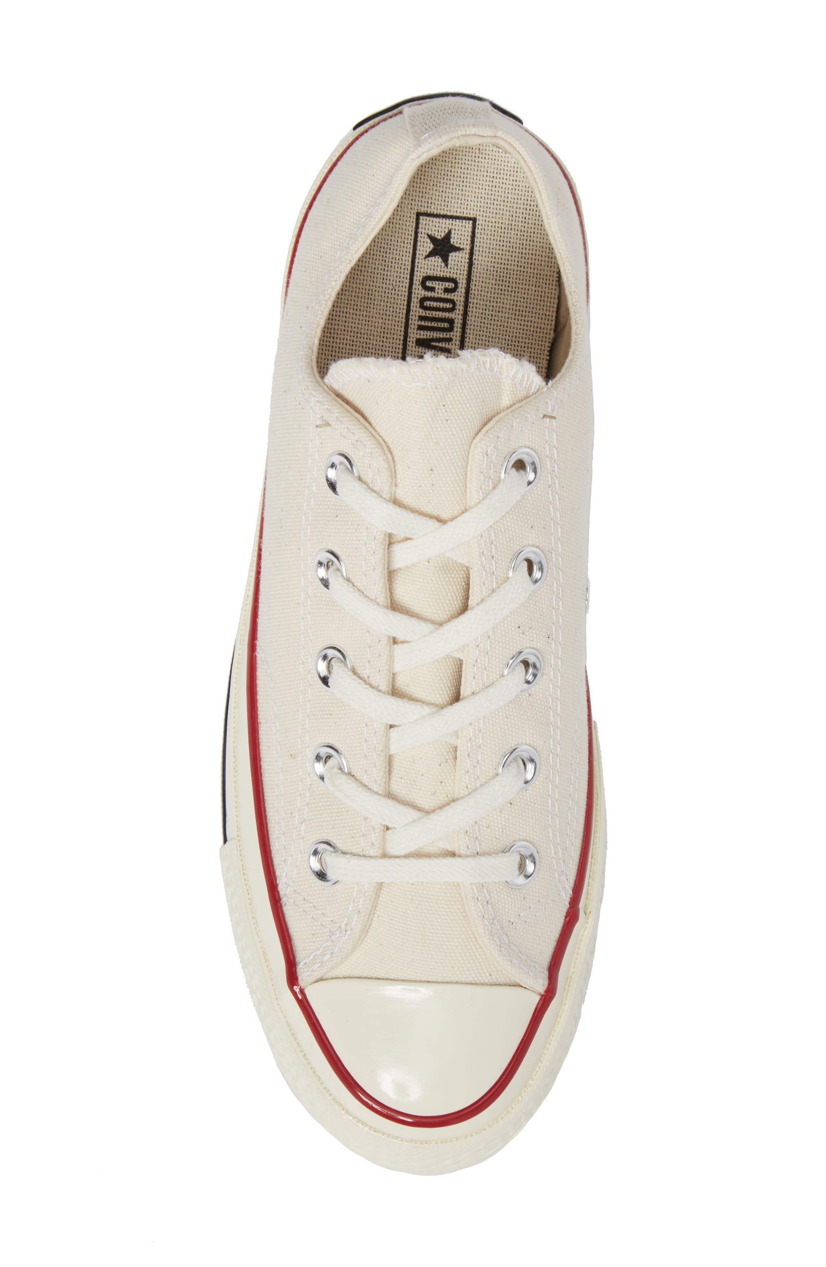 Chuck Taylor<sup>®</sup> All Star<sup>®</sup> Ox Low Top Sneaker,                             Alternate thumbnail 5, color,                             PARCHMENT