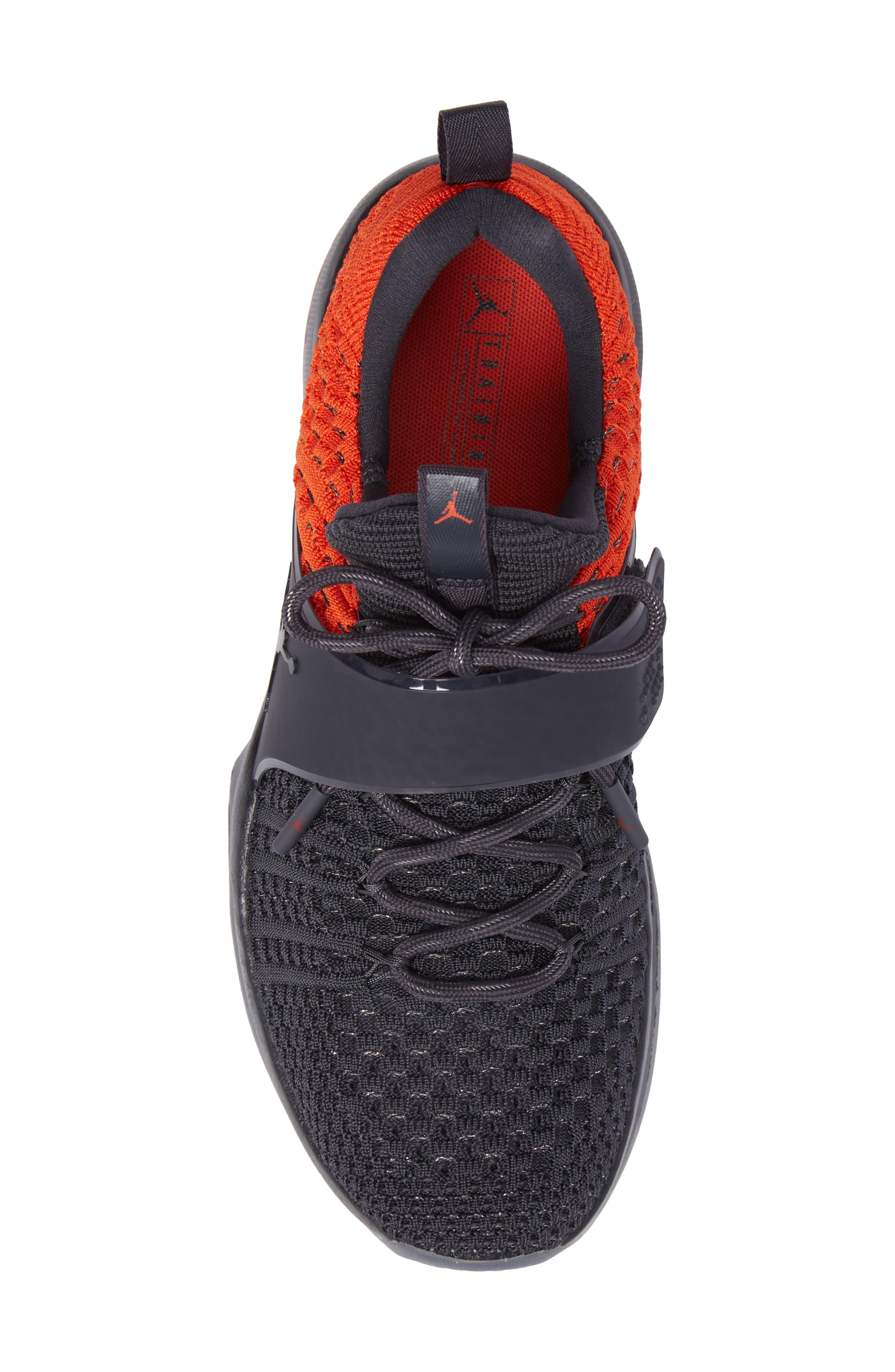 Jordan Flyknit Trainer 2 Low Sneaker,                             Alternate thumbnail 22, color,