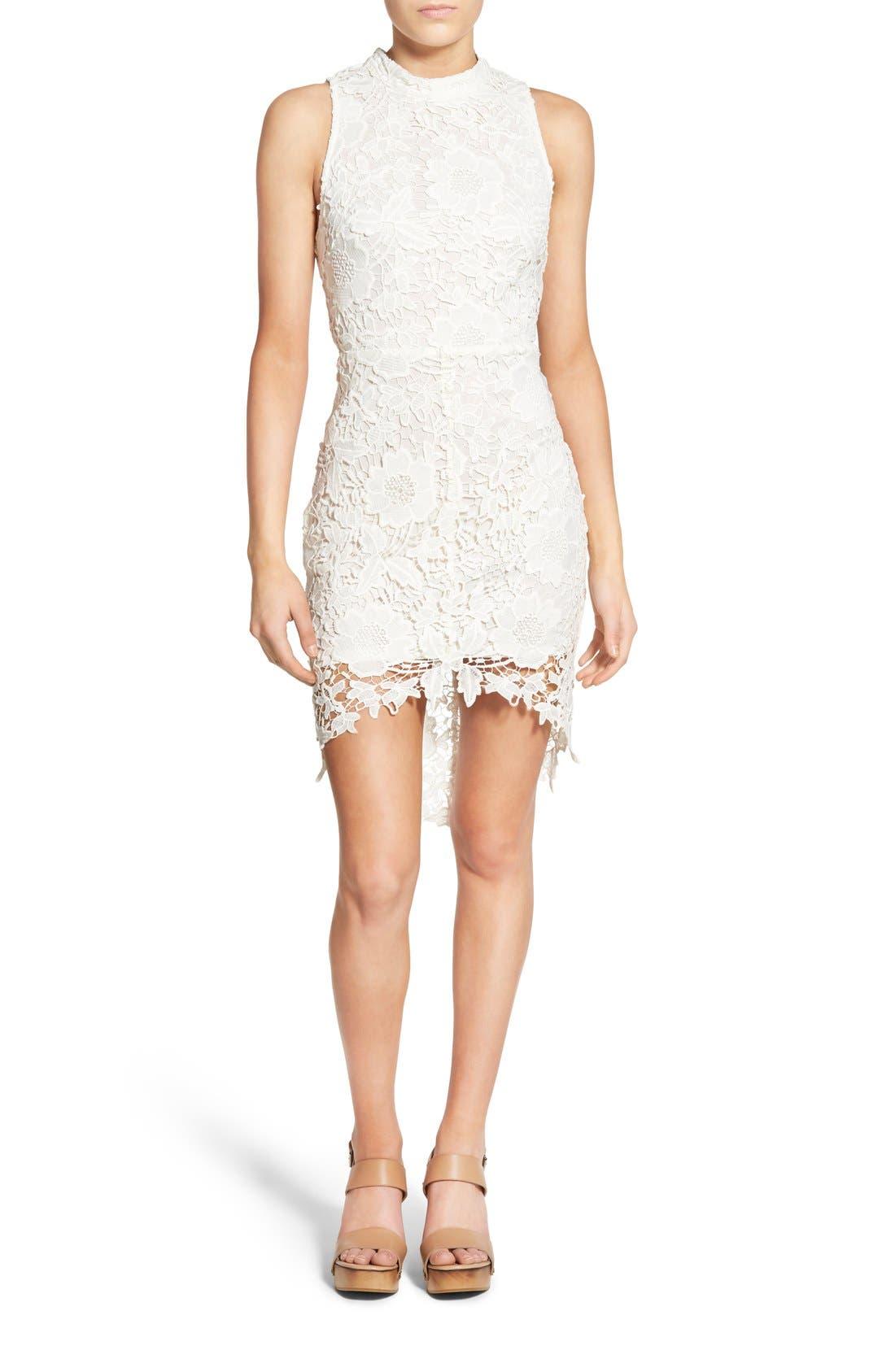 'Samantha' Lace Dress,                             Main thumbnail 3, color,