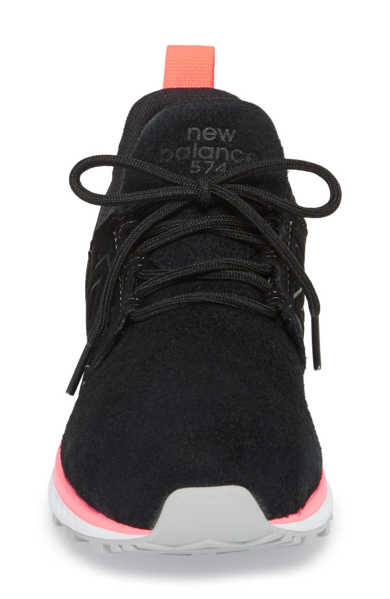 574 Sport Sneaker,                             Alternate thumbnail 4, color,                             001