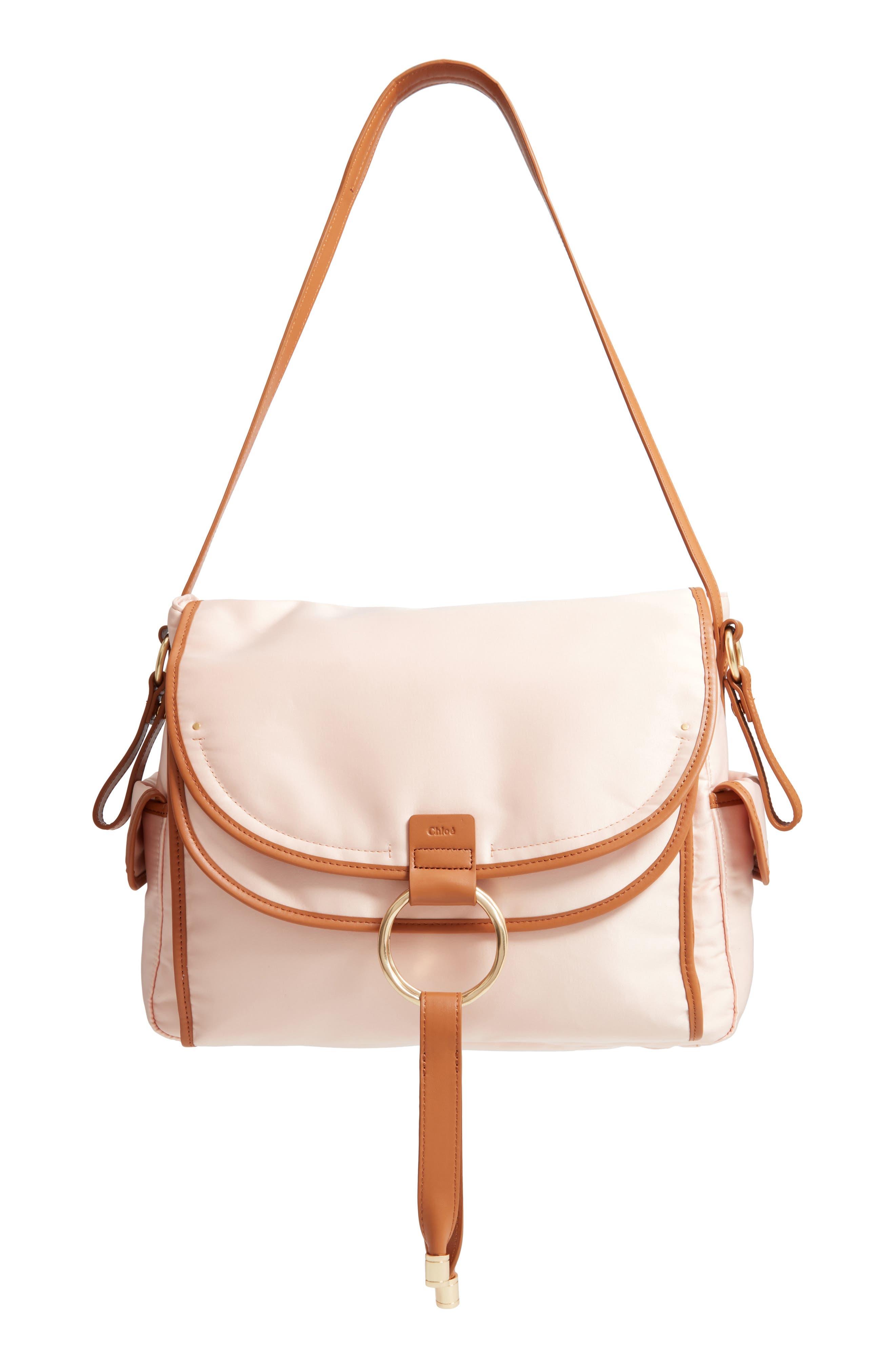 Diaper Bag,                         Main,                         color, POUDRE