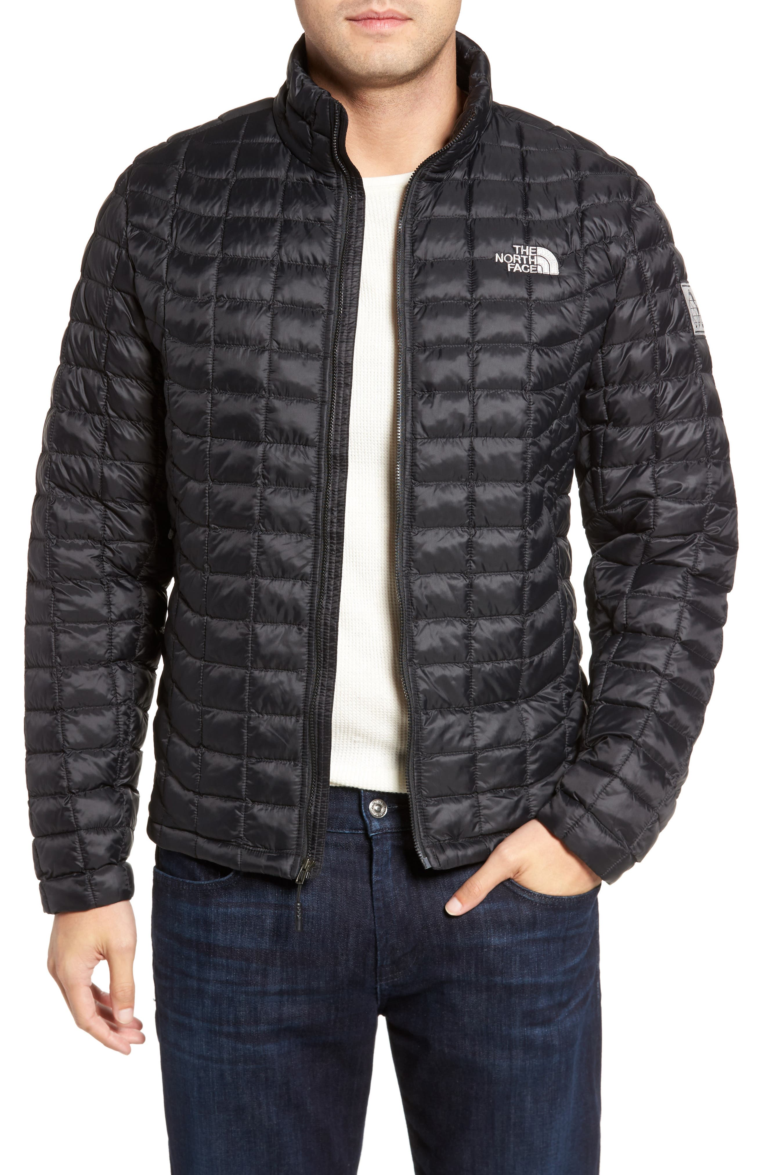 International Collection ThermoBall PrimaLoft<sup>®</sup> Jacket,                             Main thumbnail 1, color,                             001