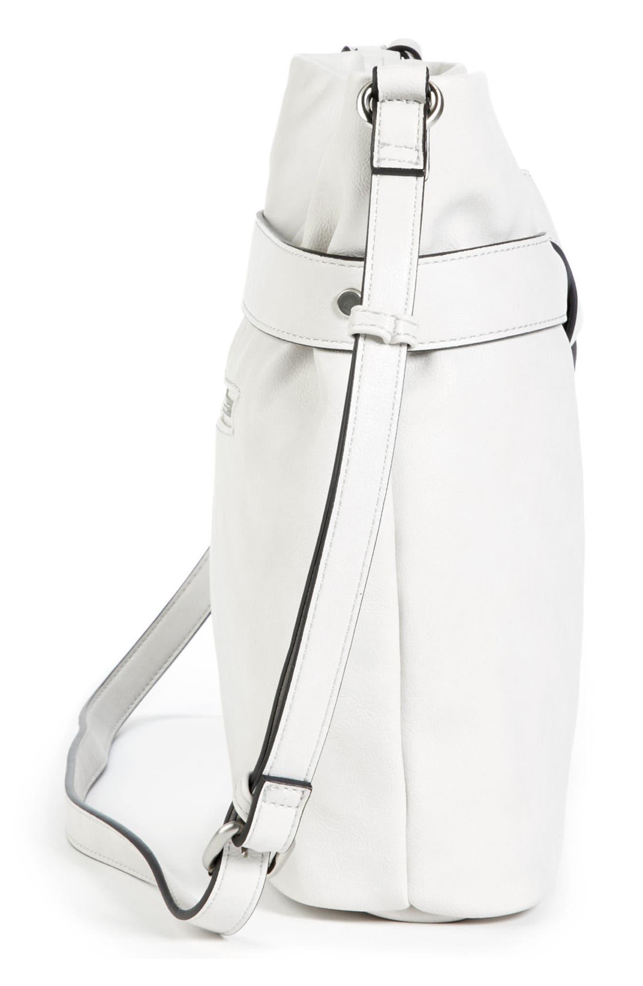 Karon Faux Leather Shoulder Bag,                             Alternate thumbnail 4, color,                             104