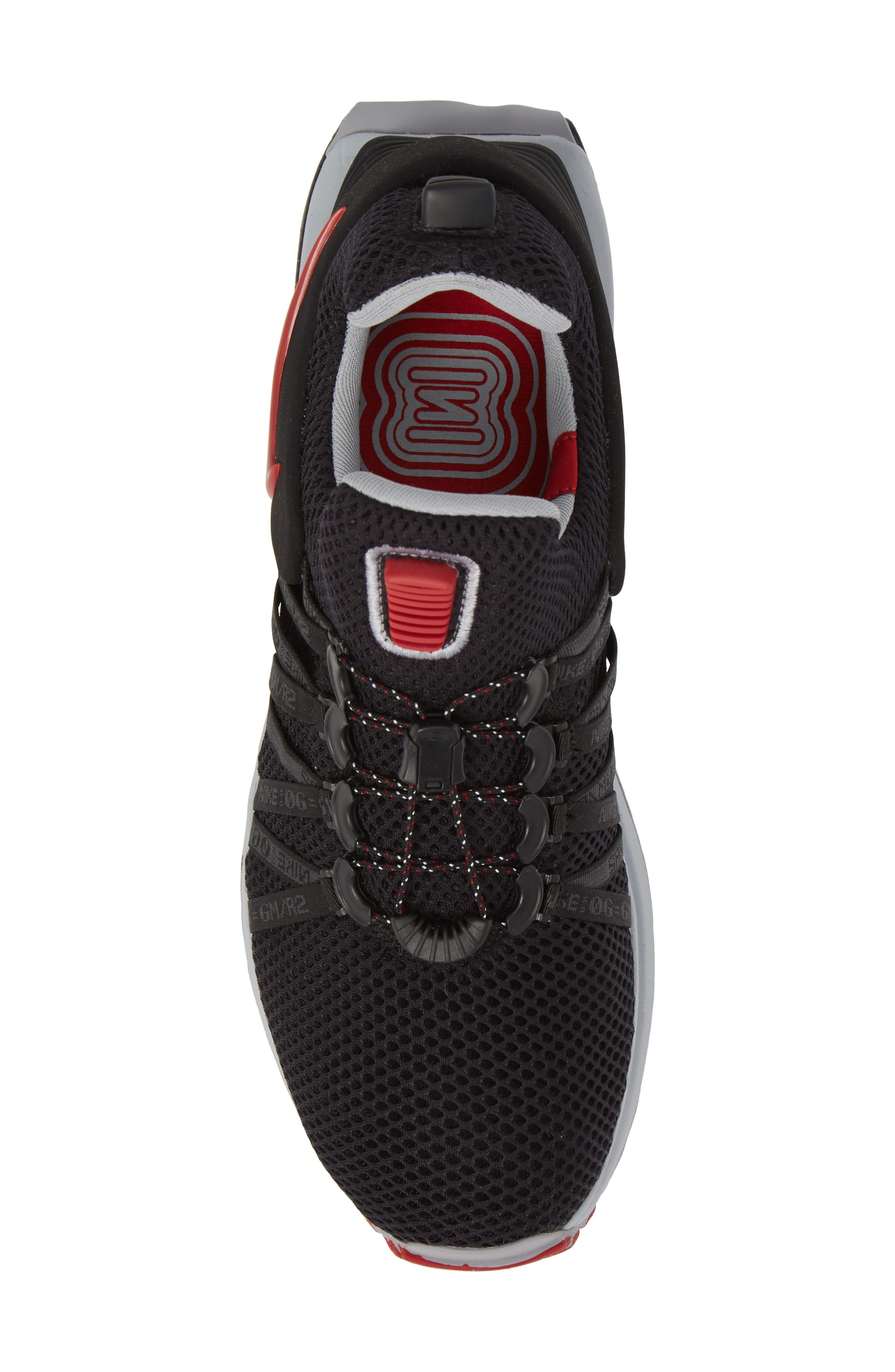 Shox Gravity Sneaker,                             Alternate thumbnail 5, color,                             016
