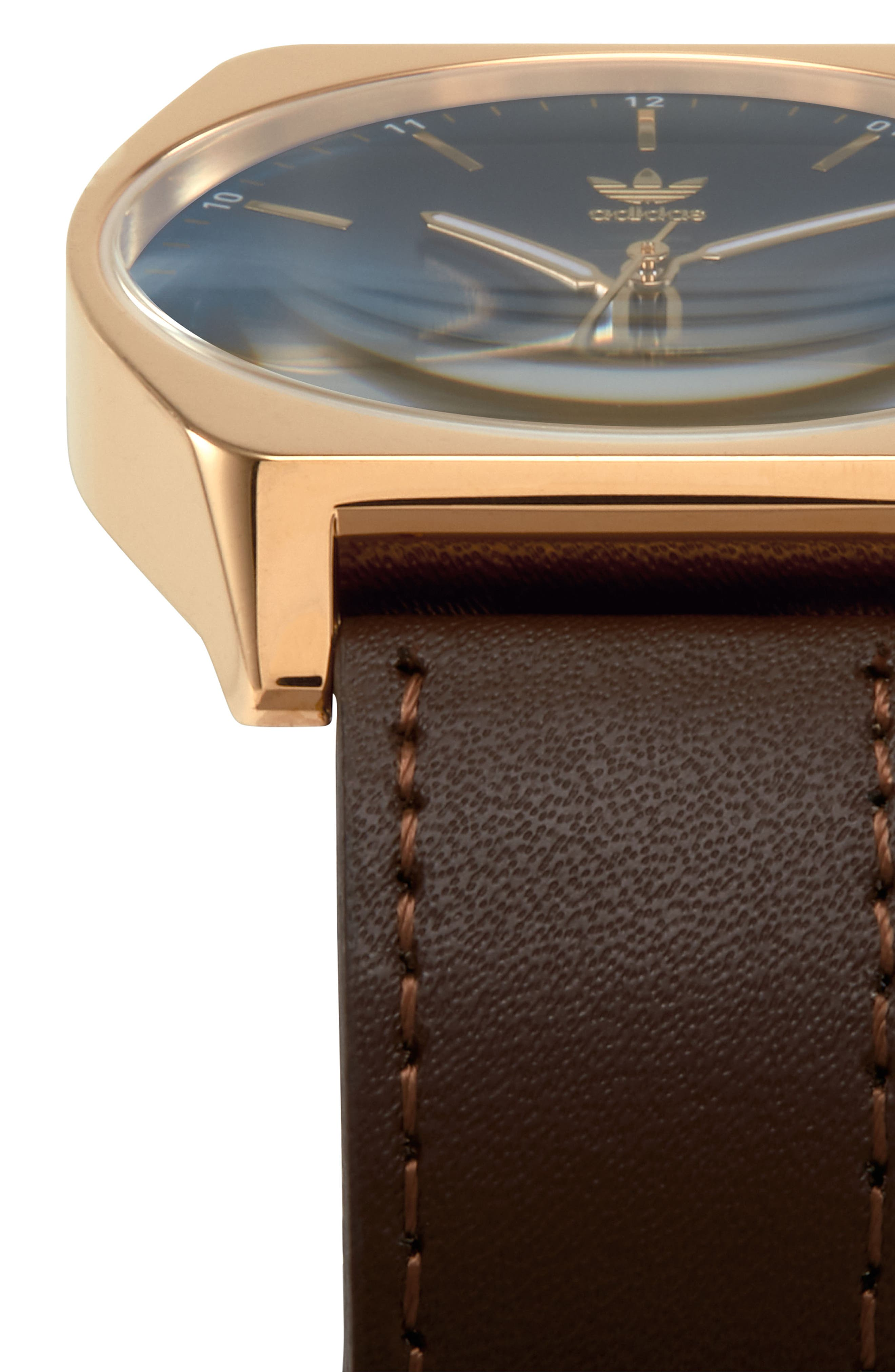 Process Leather Strap Watch, 38mm,                             Alternate thumbnail 16, color,
