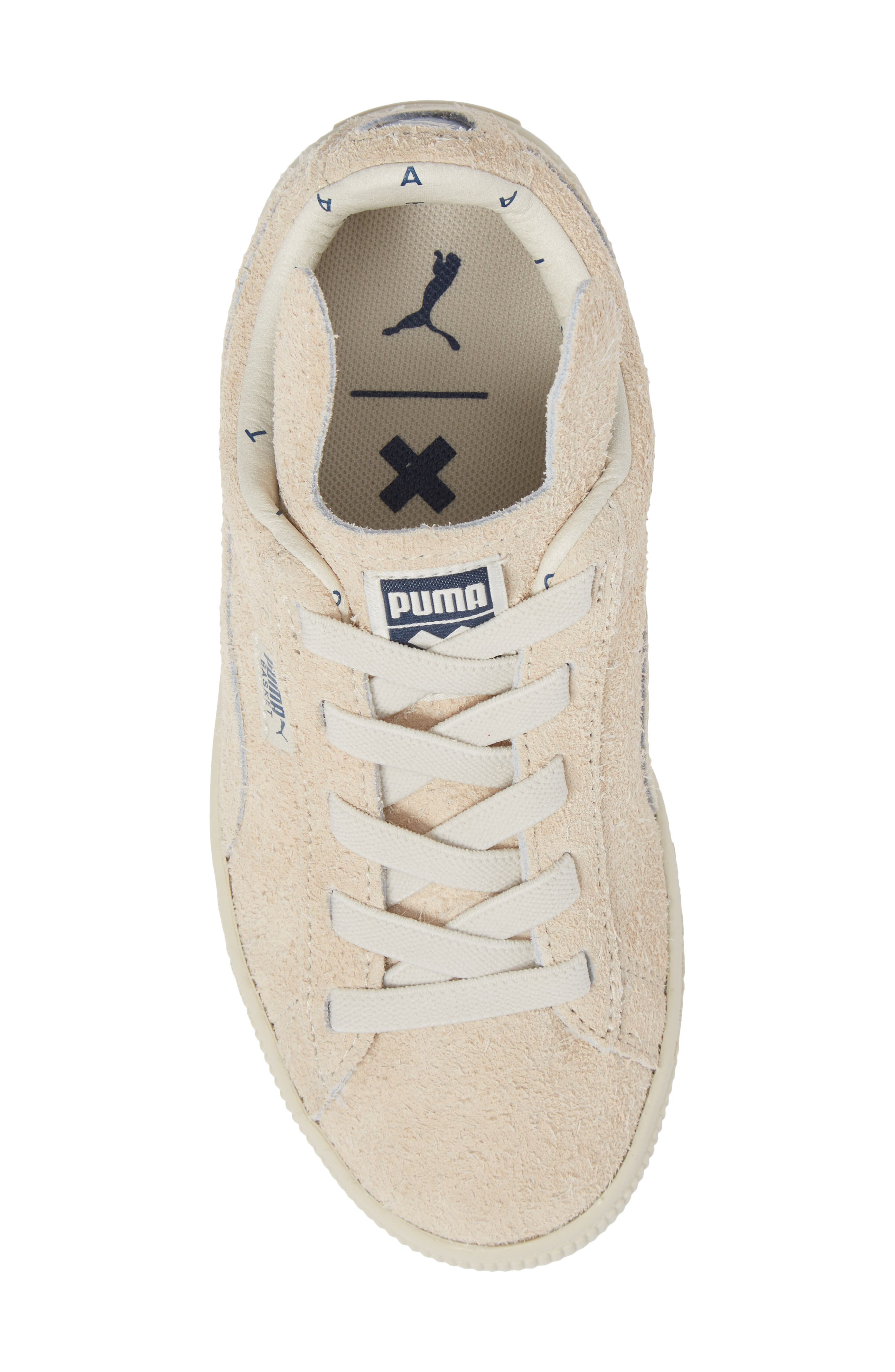 x tinycottons Basket Furry Sneaker,                             Alternate thumbnail 5, color,                             250
