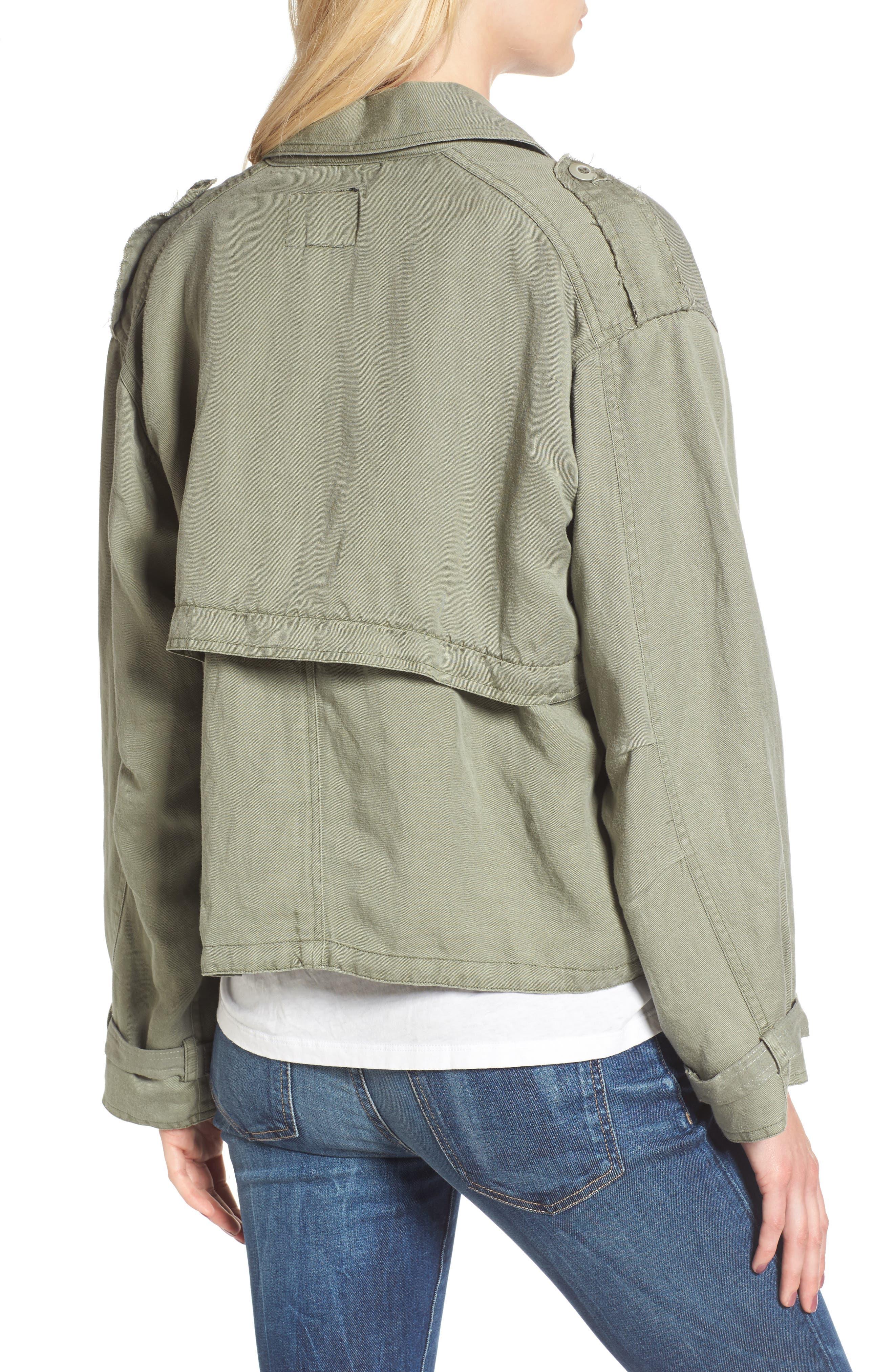 Barclay Crop Jacket,                             Alternate thumbnail 2, color,                             307