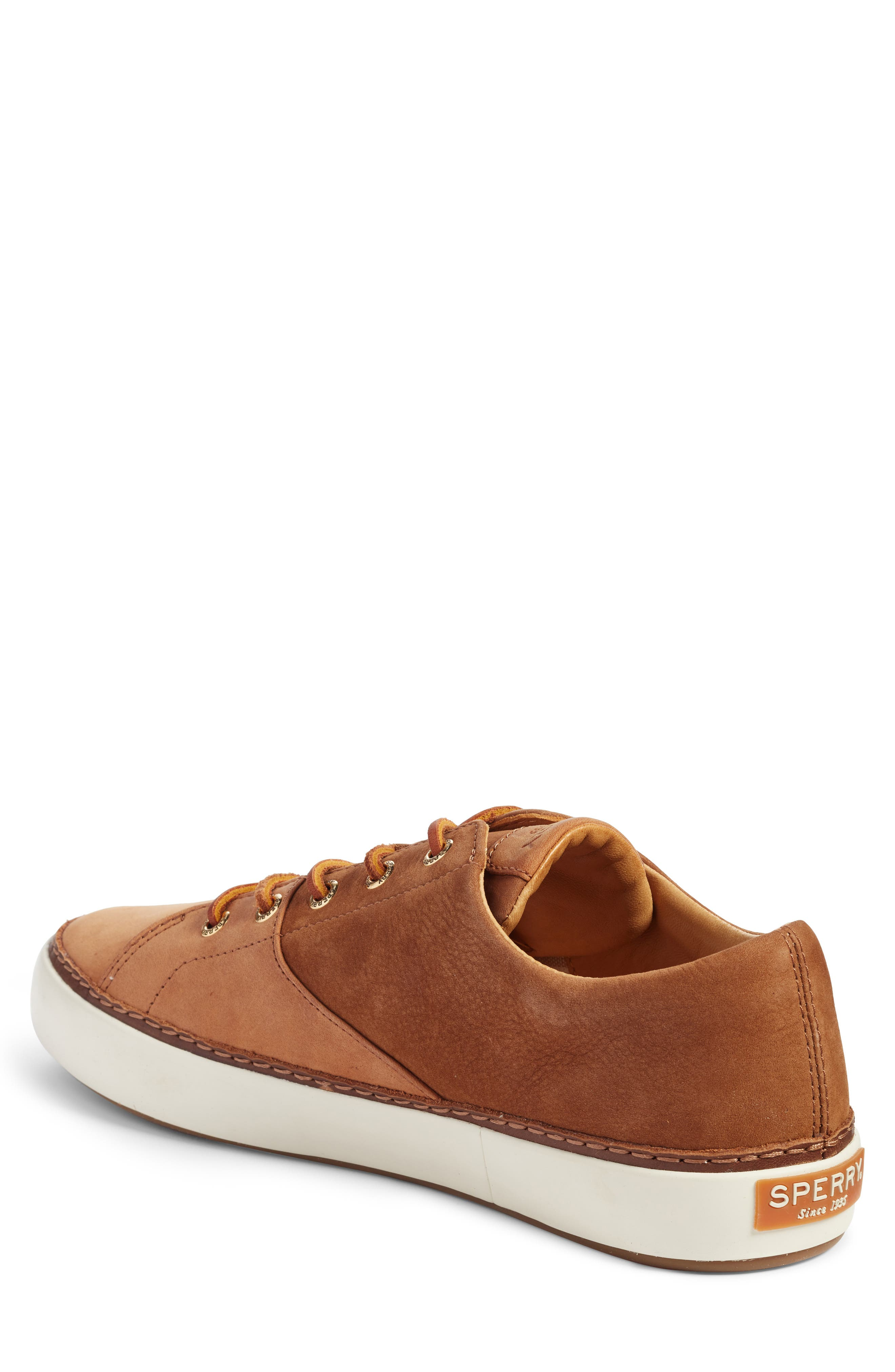 Gold Cup Haven Sneaker,                             Alternate thumbnail 2, color,                             TAN LEATHER