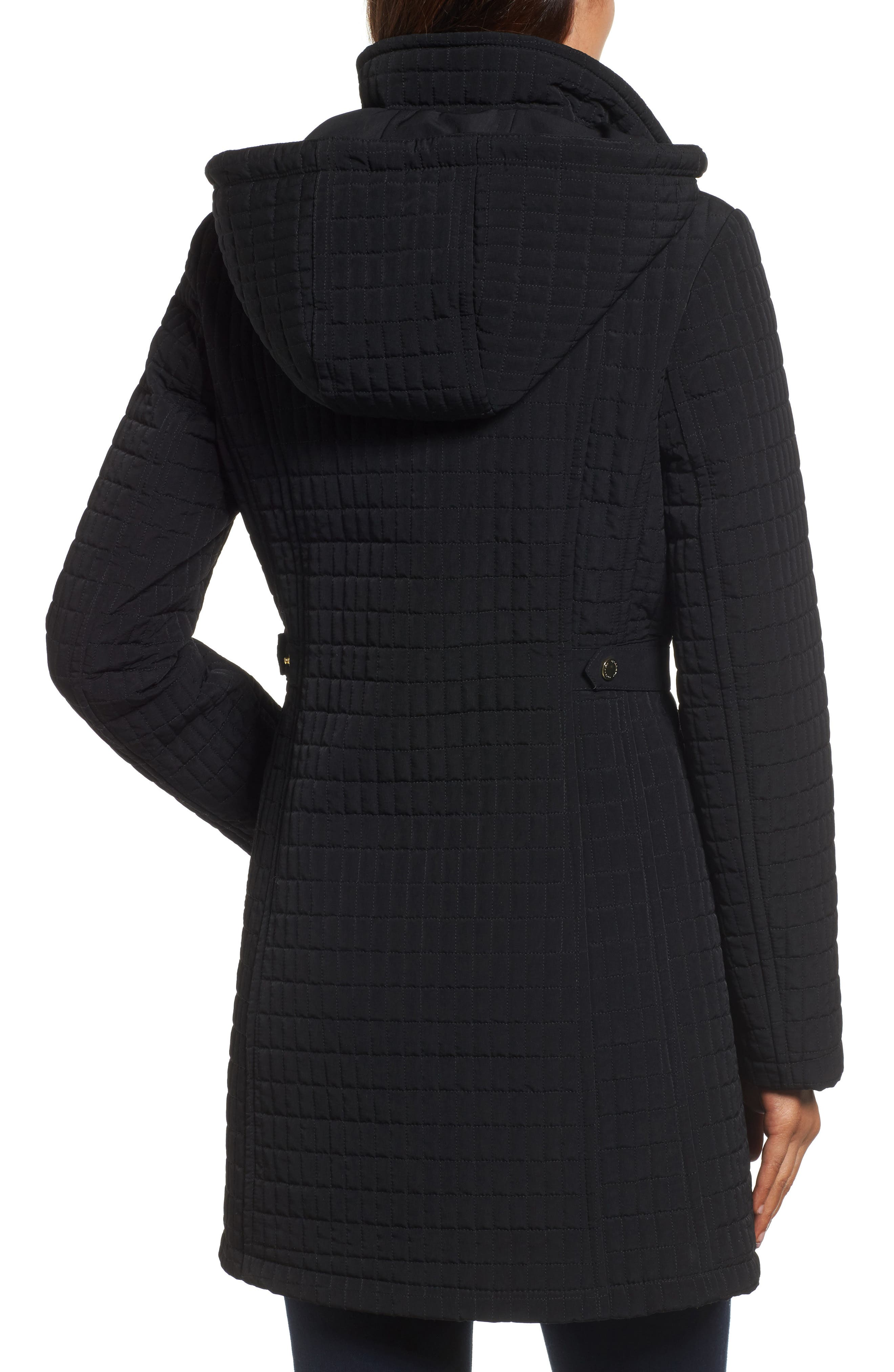 Quilted Jacket,                             Alternate thumbnail 2, color,                             001