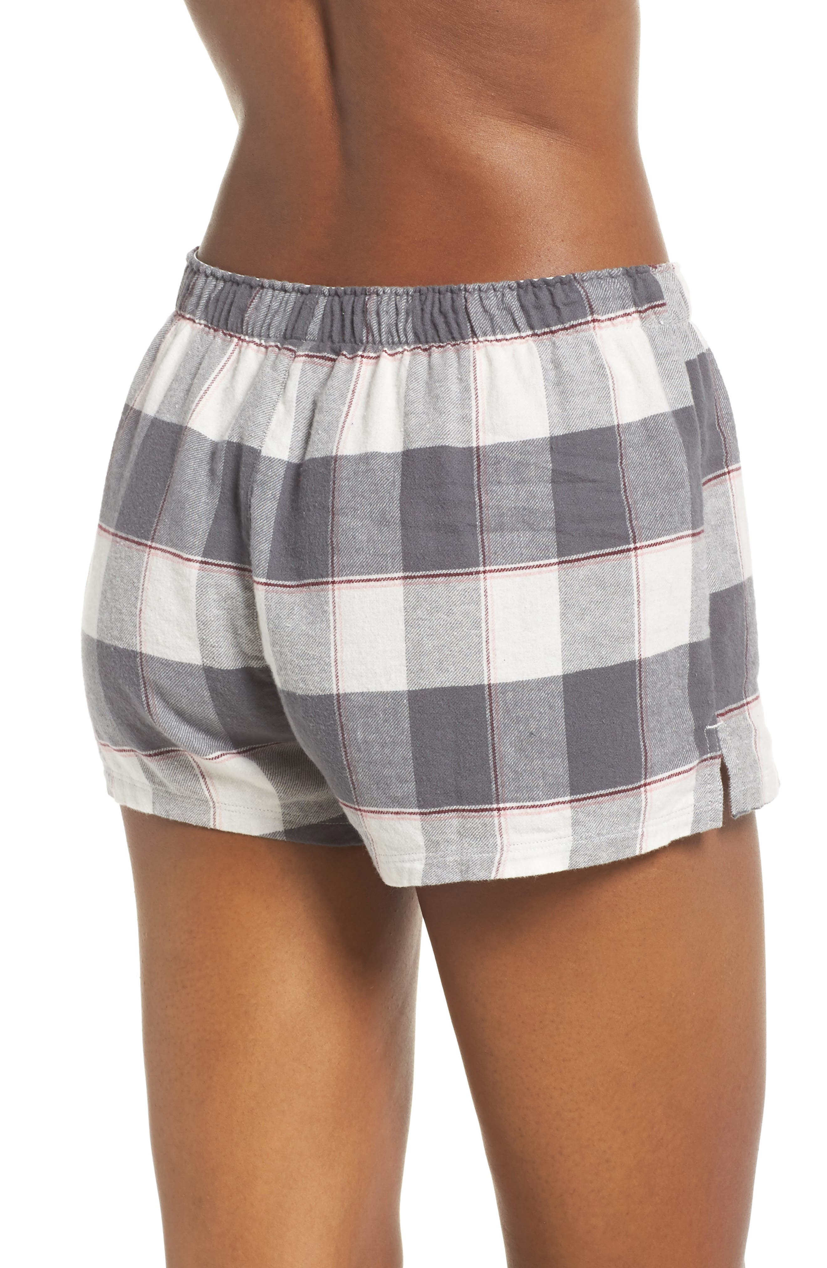PJ SALVAGE,                             Cozy Time Shorts,                             Alternate thumbnail 2, color,                             028