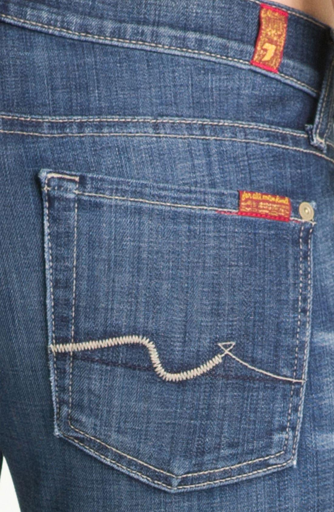 'Roxanne' Straight Leg Jeans,                             Alternate thumbnail 3, color,                             400