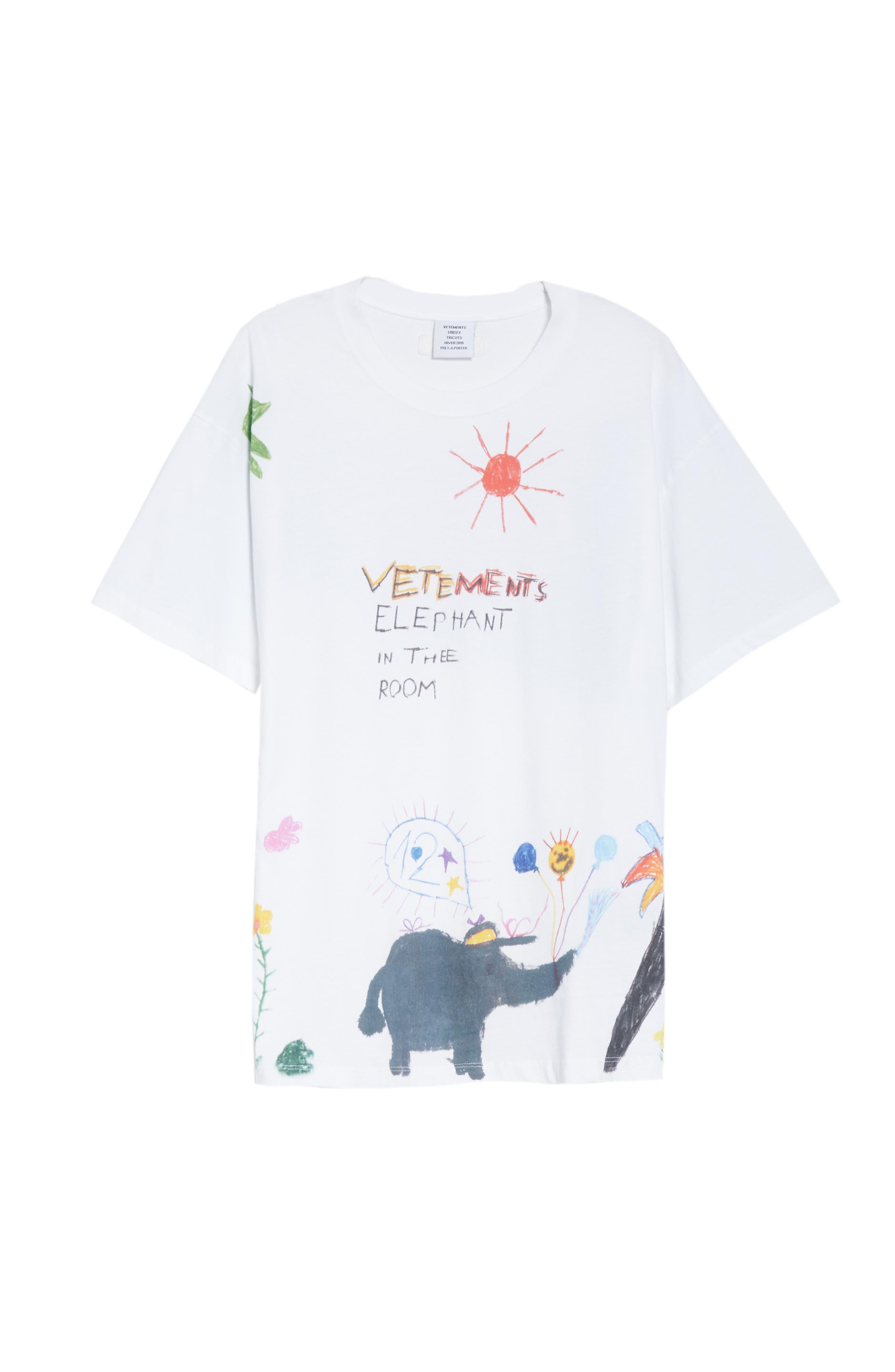Elephant Sun Tee,                             Alternate thumbnail 6, color,                             100