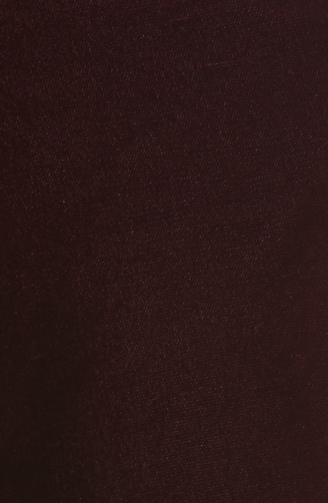 Bonded Velvet Crop Pants,                             Alternate thumbnail 5, color,                             930