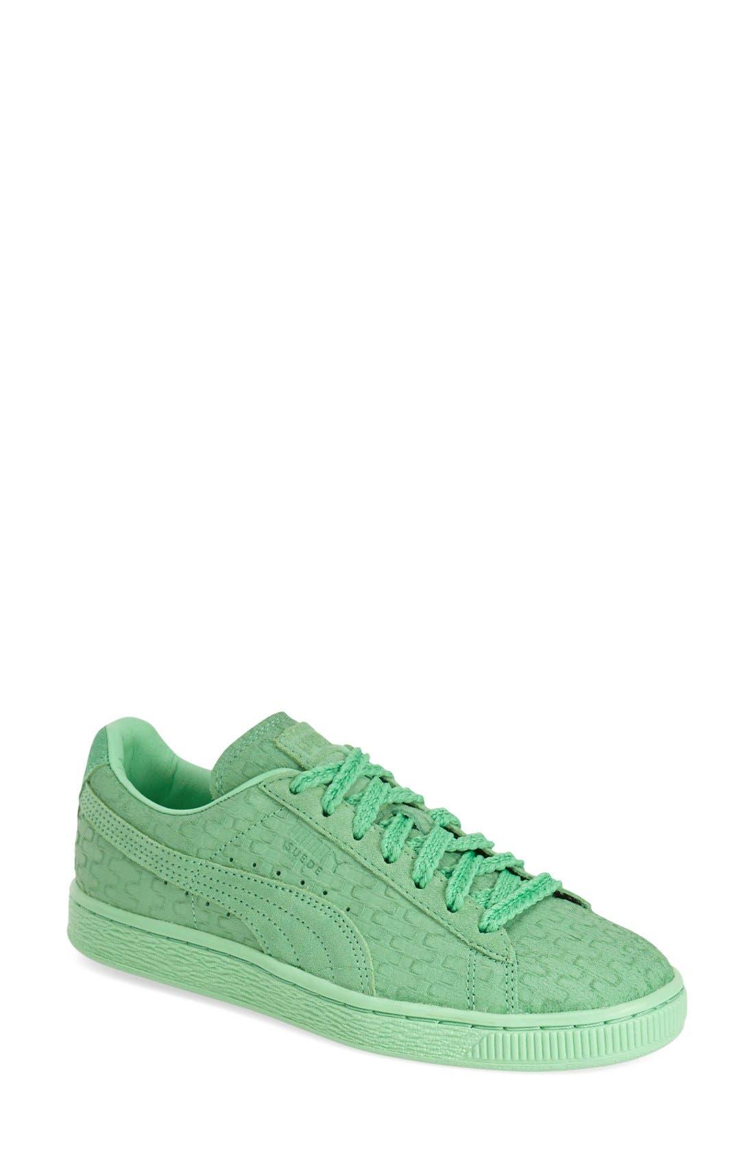 'Suede Classic - Solange' Sneaker,                             Main thumbnail 1, color,                             300