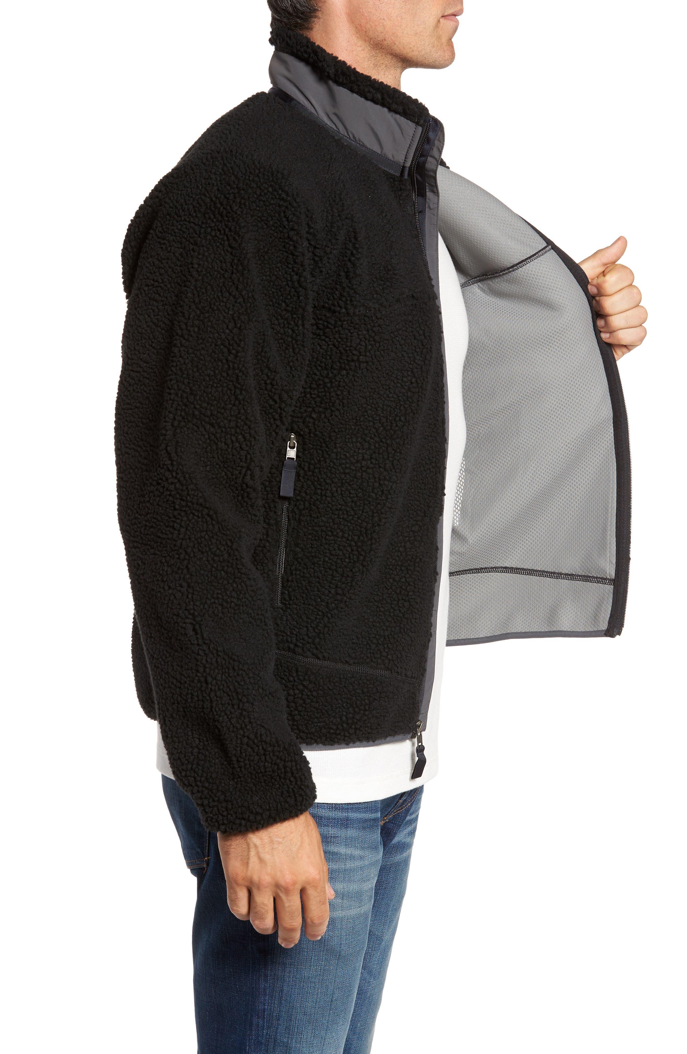 Retro-X Fleece Jacket,                             Alternate thumbnail 3, color,                             002