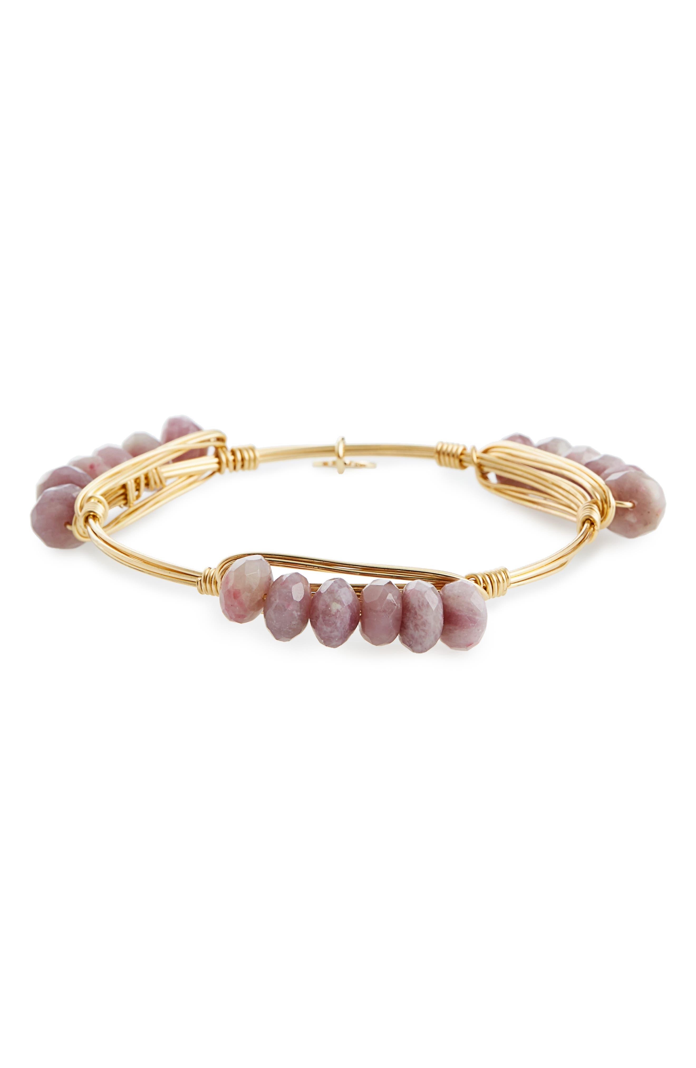 Agate Bracelet,                             Alternate thumbnail 3, color,                             500